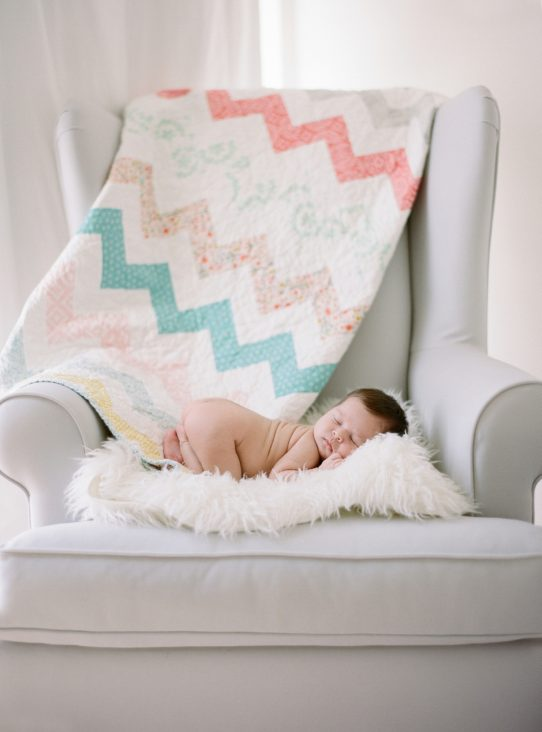 newborn photos by Northern VA fine art film photographer Audra Wrisley