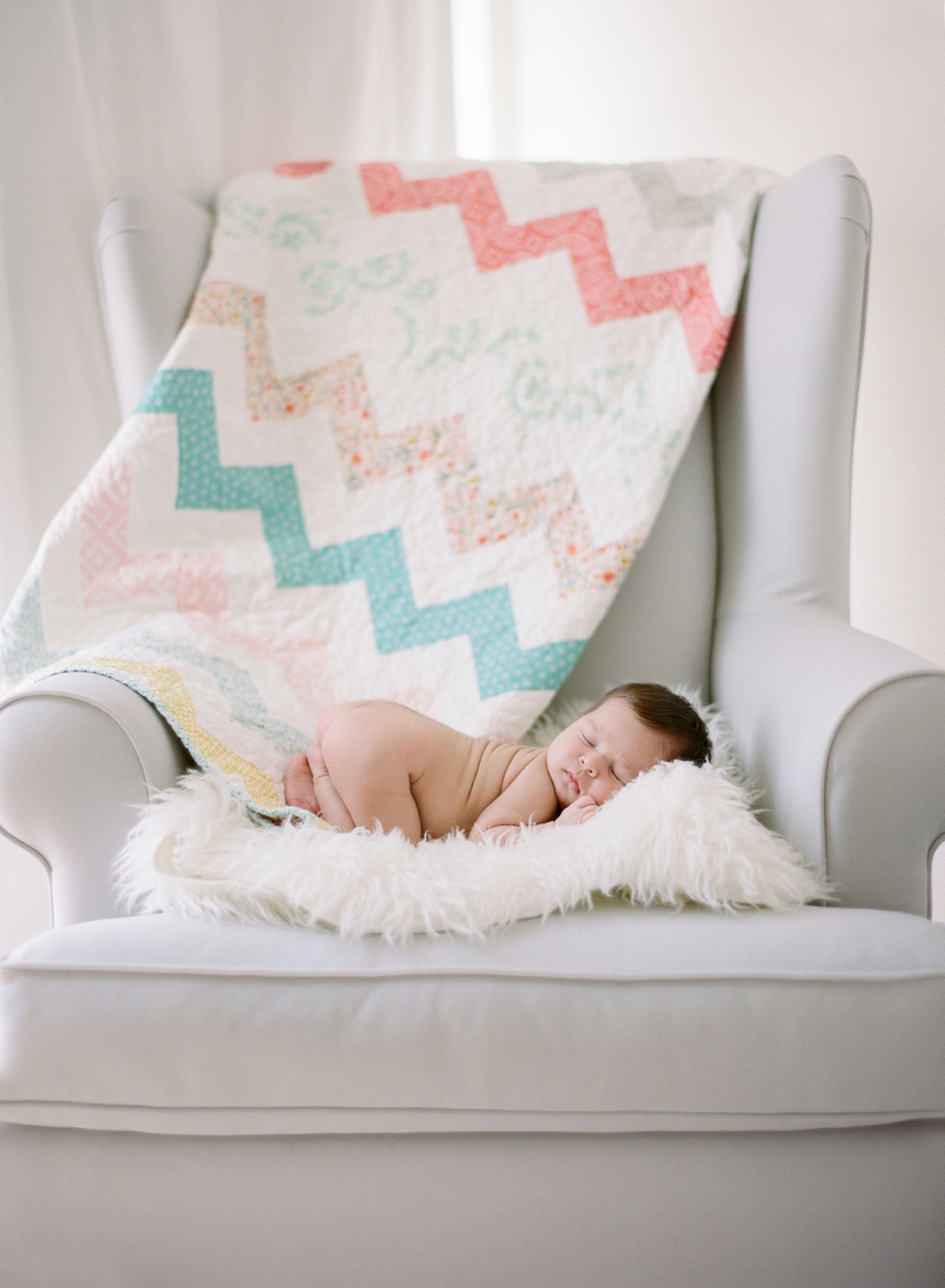 newborn portrait photographer on film I Audra Wrisley