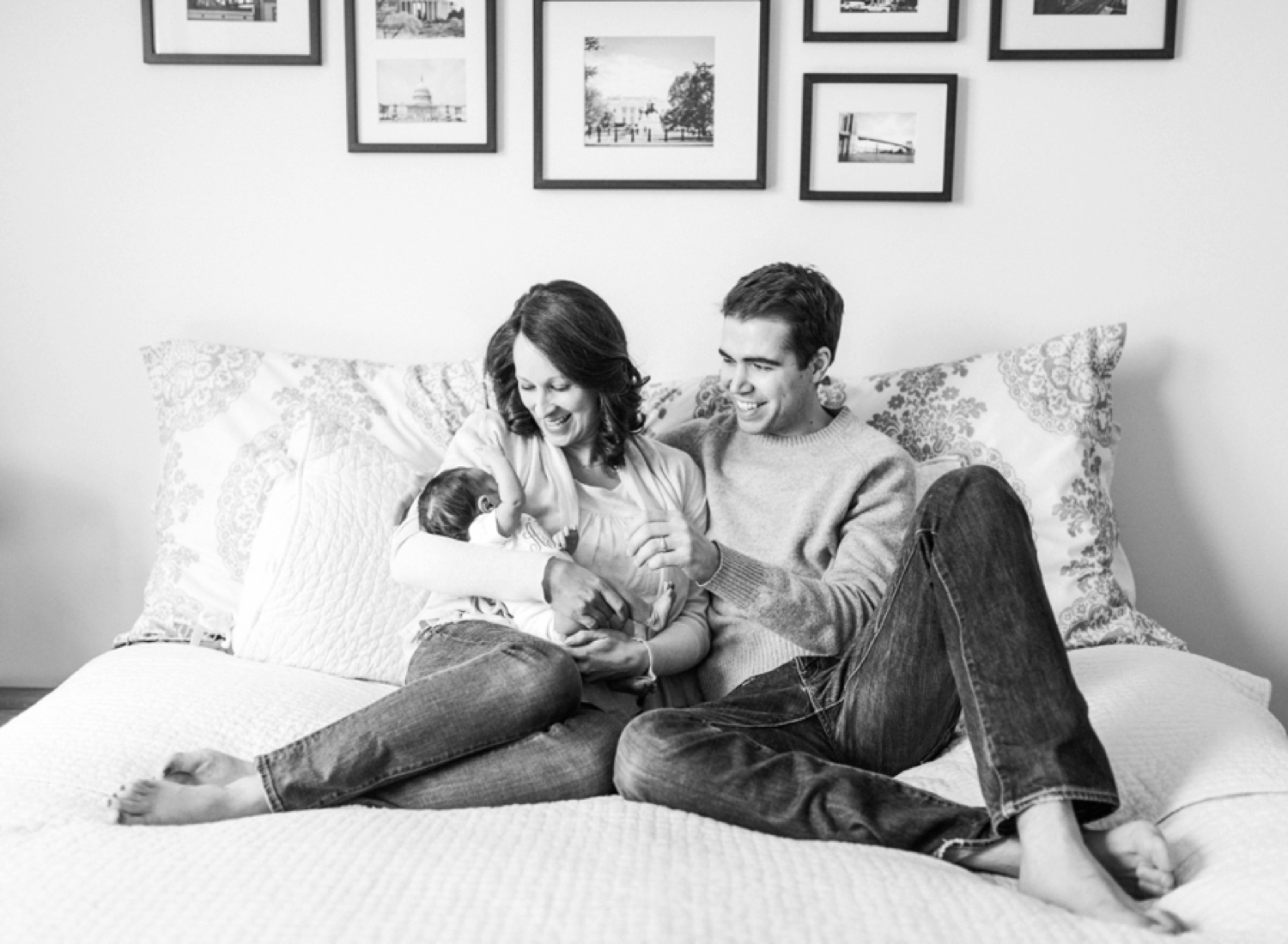 film newborn session in Virginia