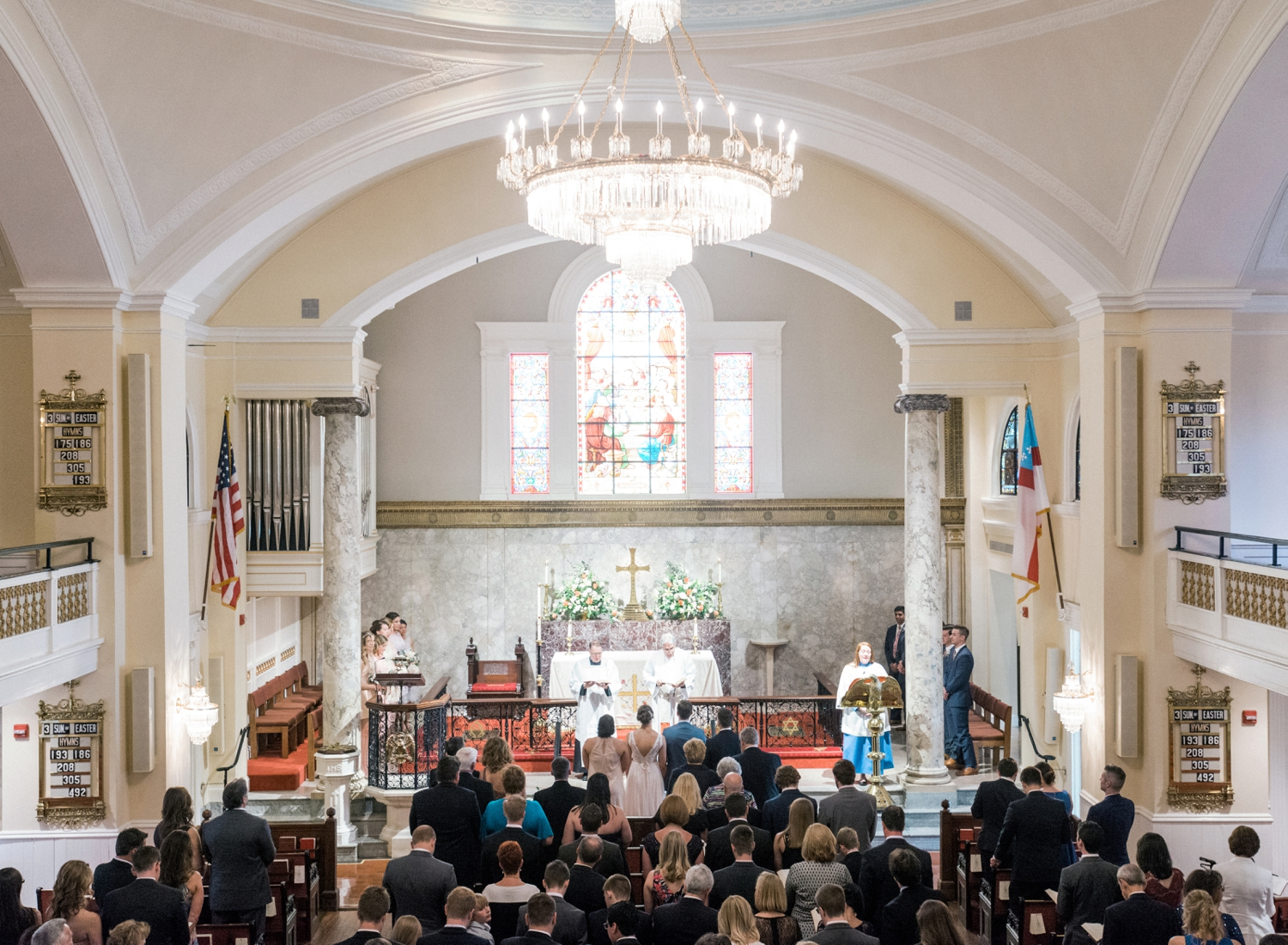 St John's Wedding Ceremony DC