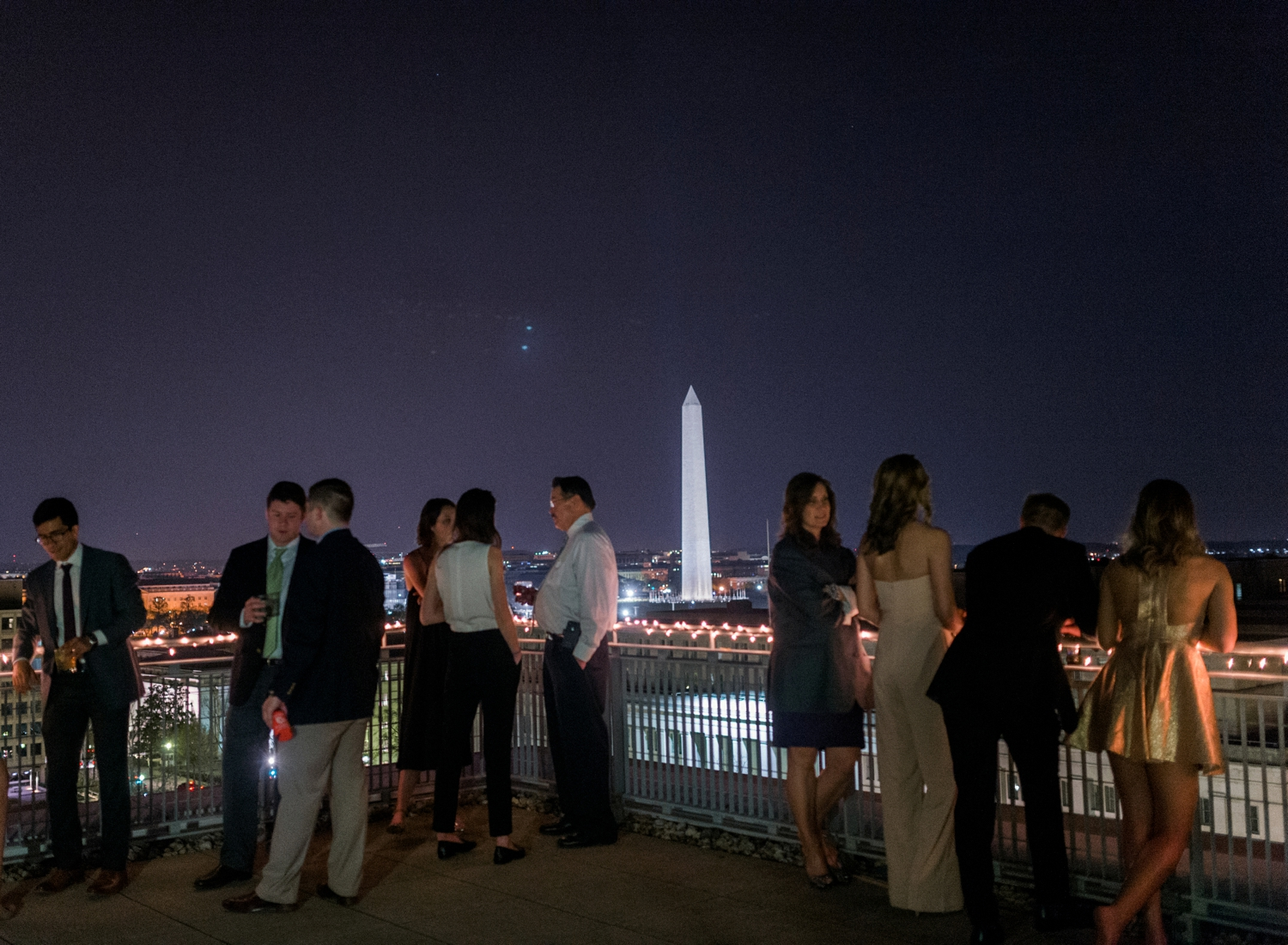 City View Room wedding reception in Washington DC