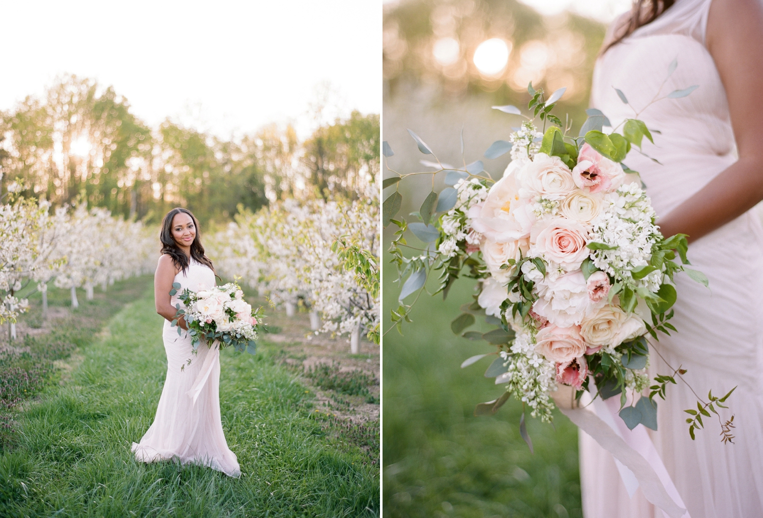 Orchard Bridal Inspiration Shoot