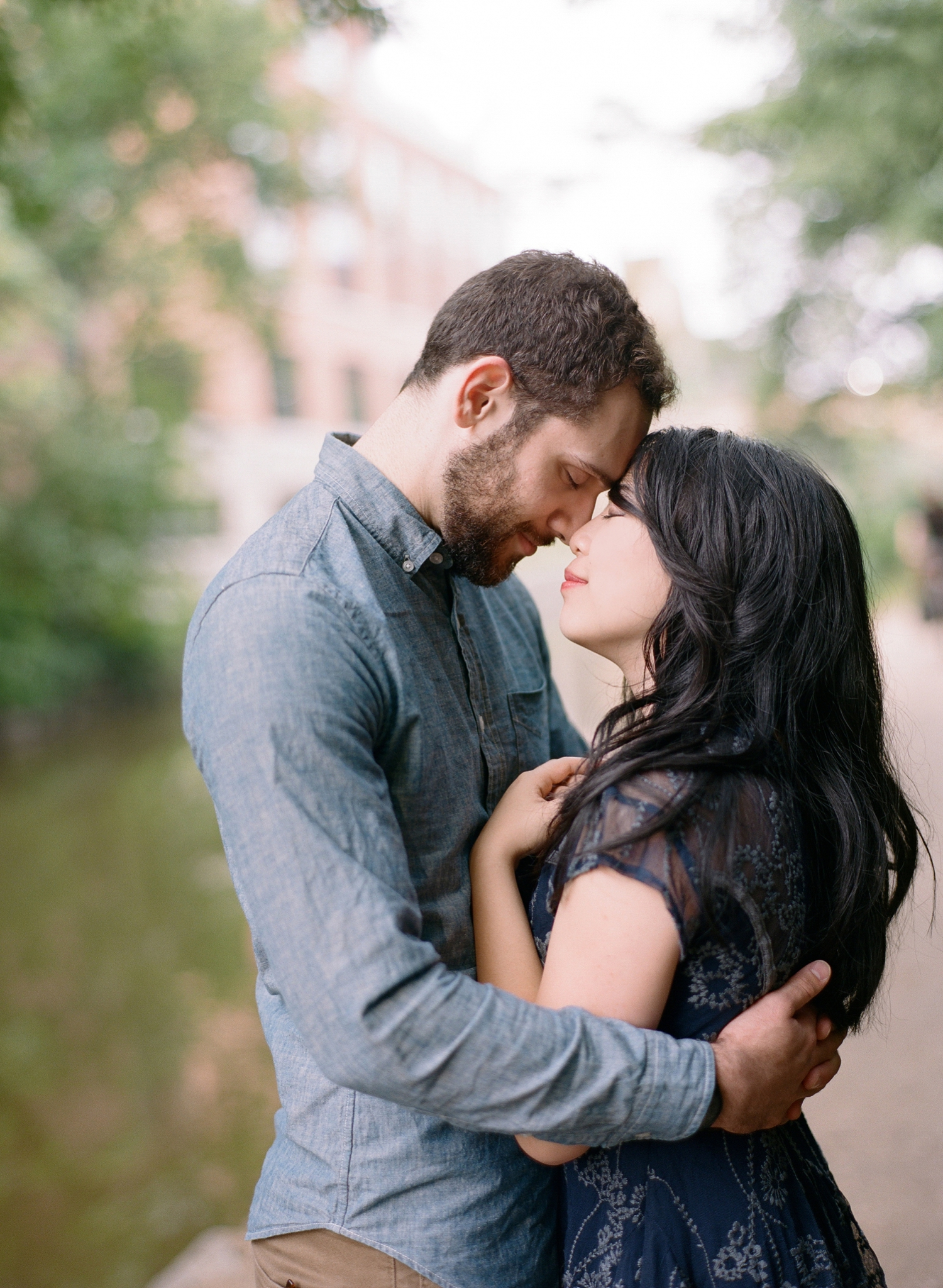 washington dc film photographer, engagement session