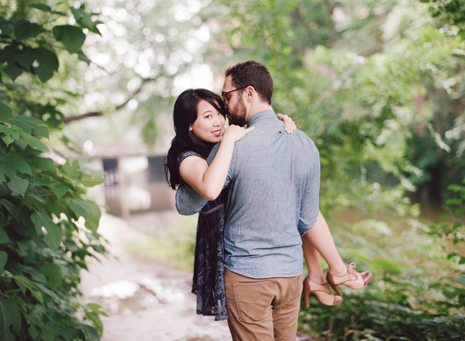 sunrise Georgetown engagement session
