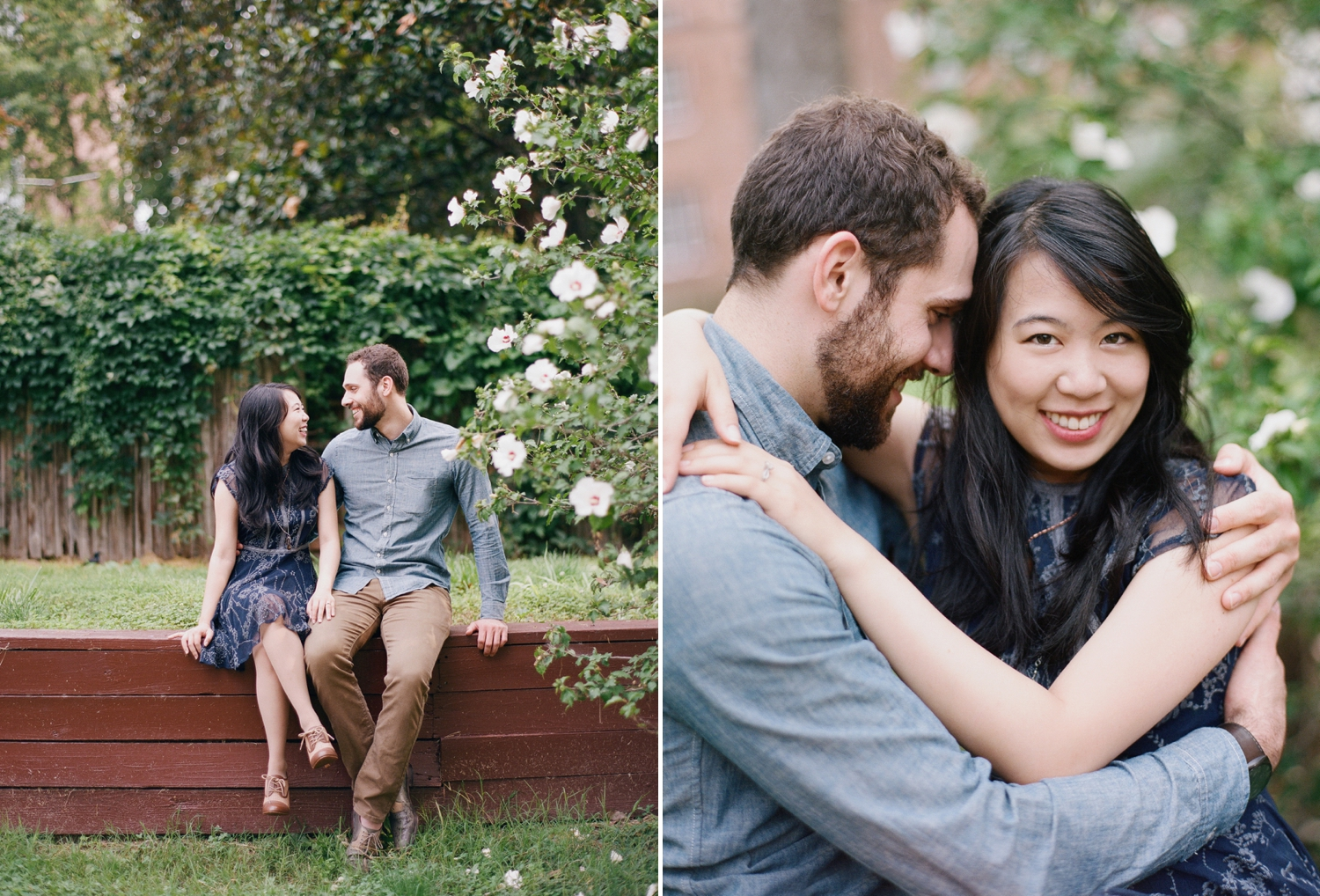Washington DC engagement photographer on film, Audra Wrisley