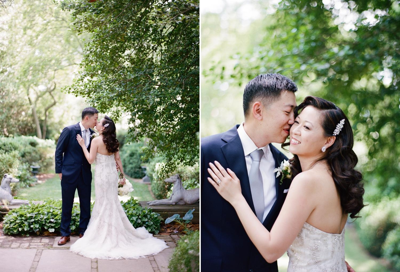 fine art film wedding photographer audra wrisley; tudor place