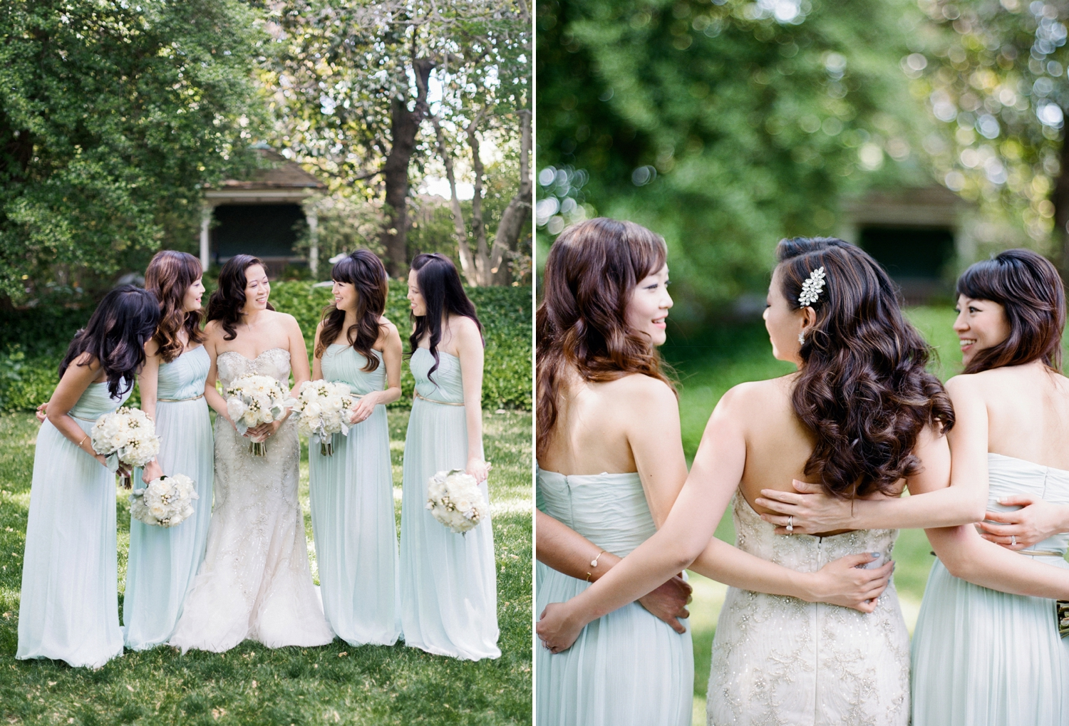 mint and ivory wedding colors