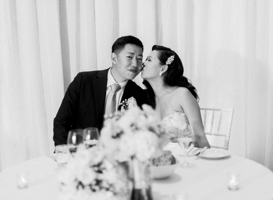 black and white film wedding photographer
