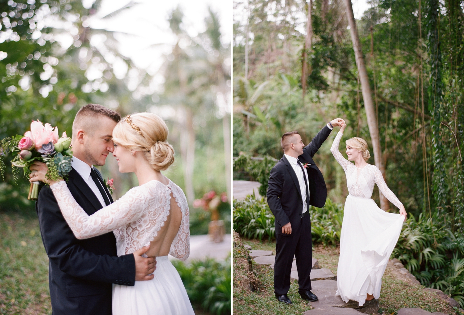 villa wedding in bali, destination wedding