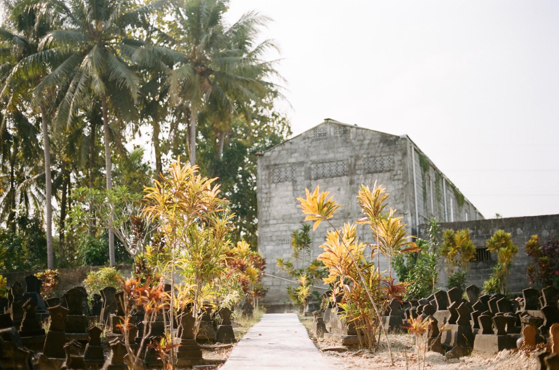 Yogyakarta cemetery, Indonesia