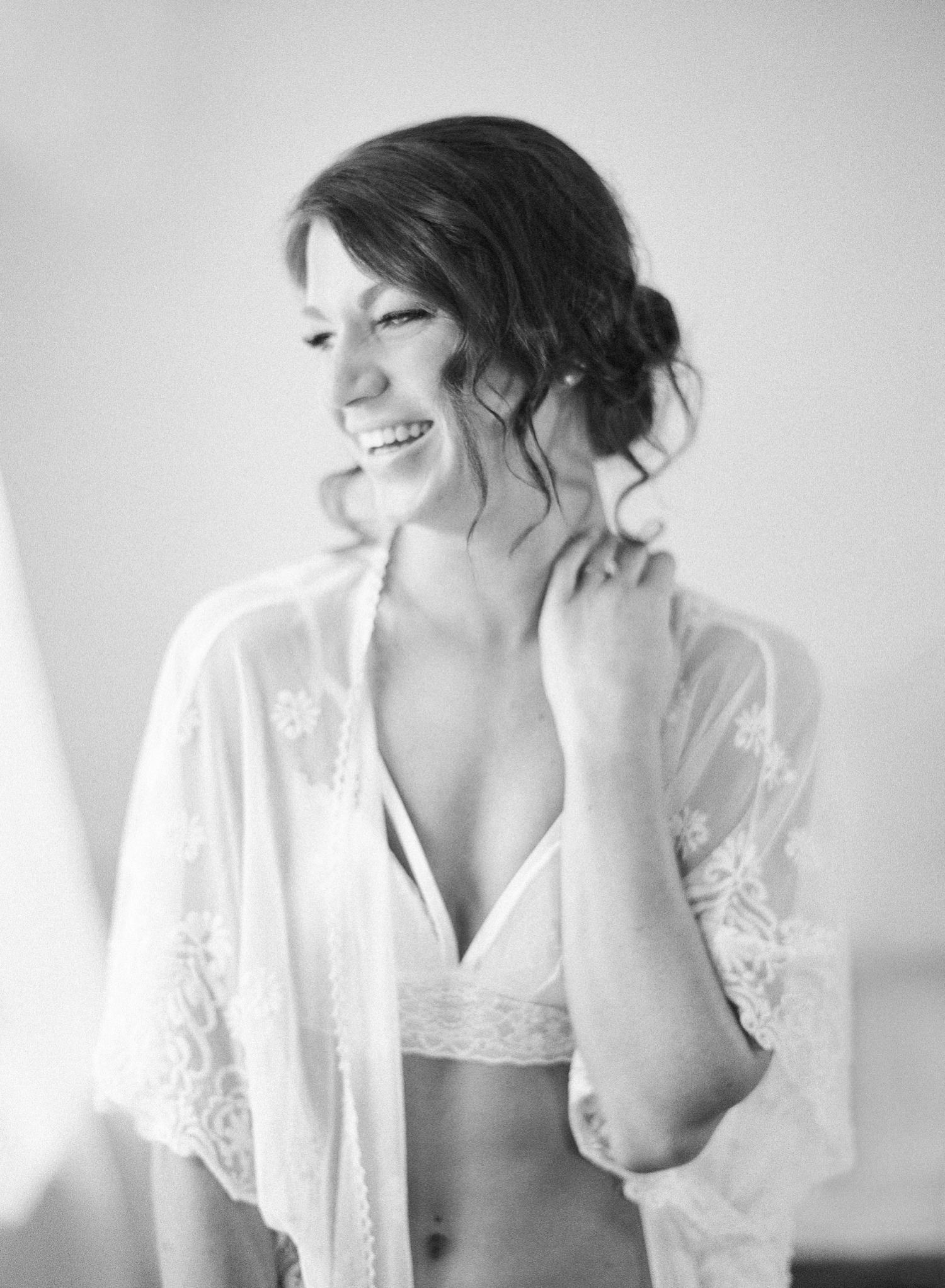 black and white film photos, boudoir shoot in old town alexandria