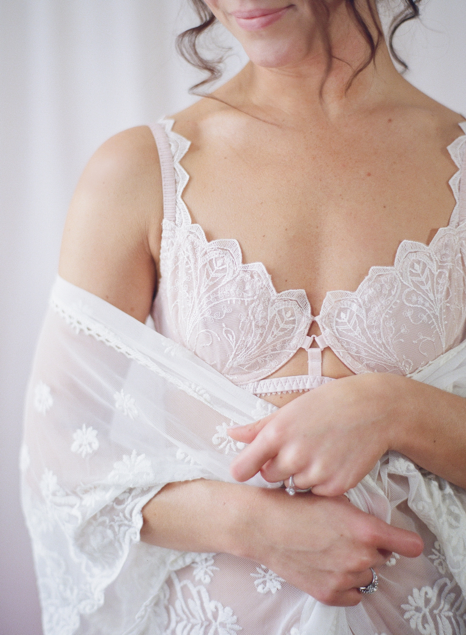 fine art film bridal boudoir shoot in DC