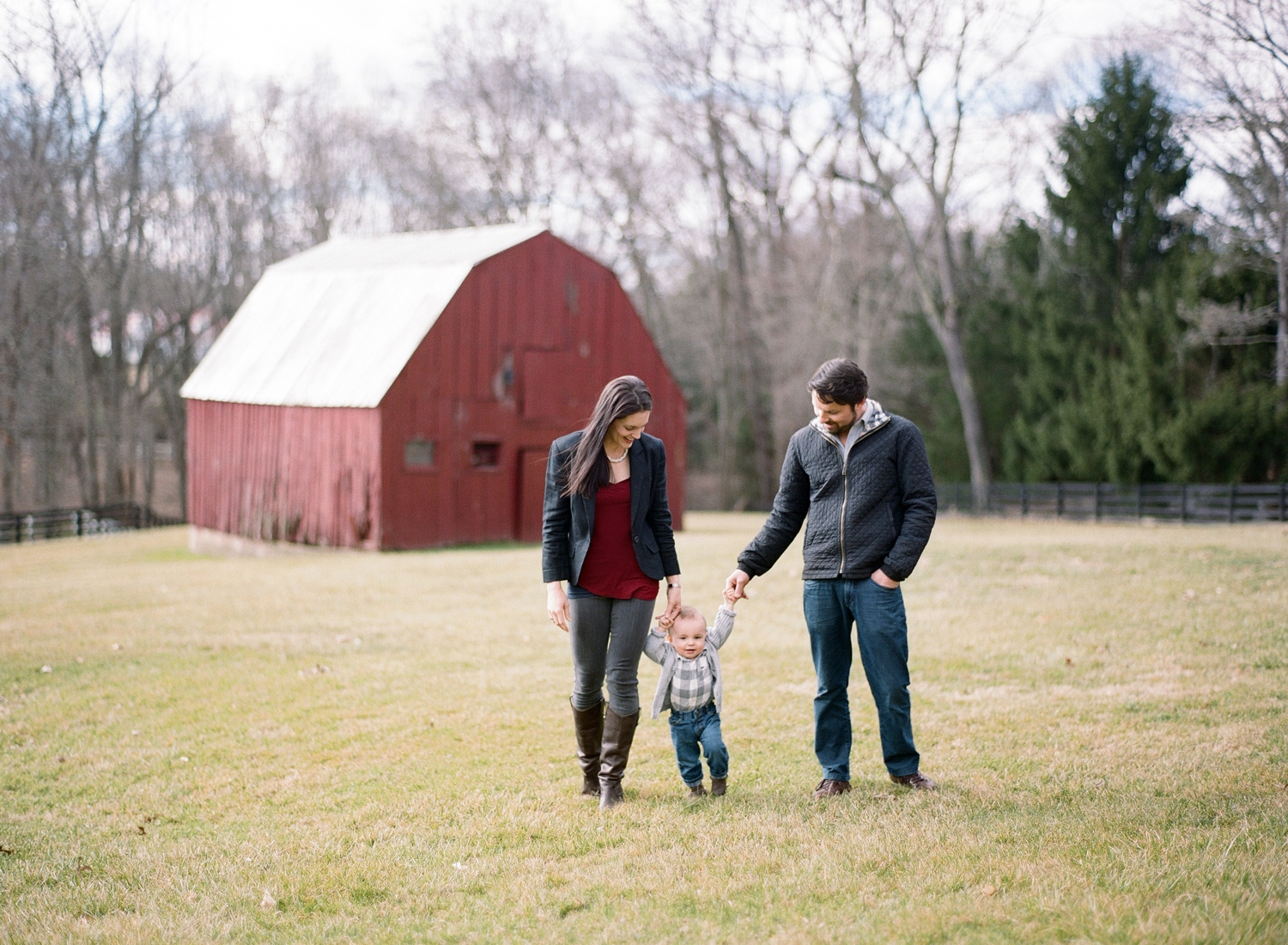 rustic family portraits on film, fine art photographer