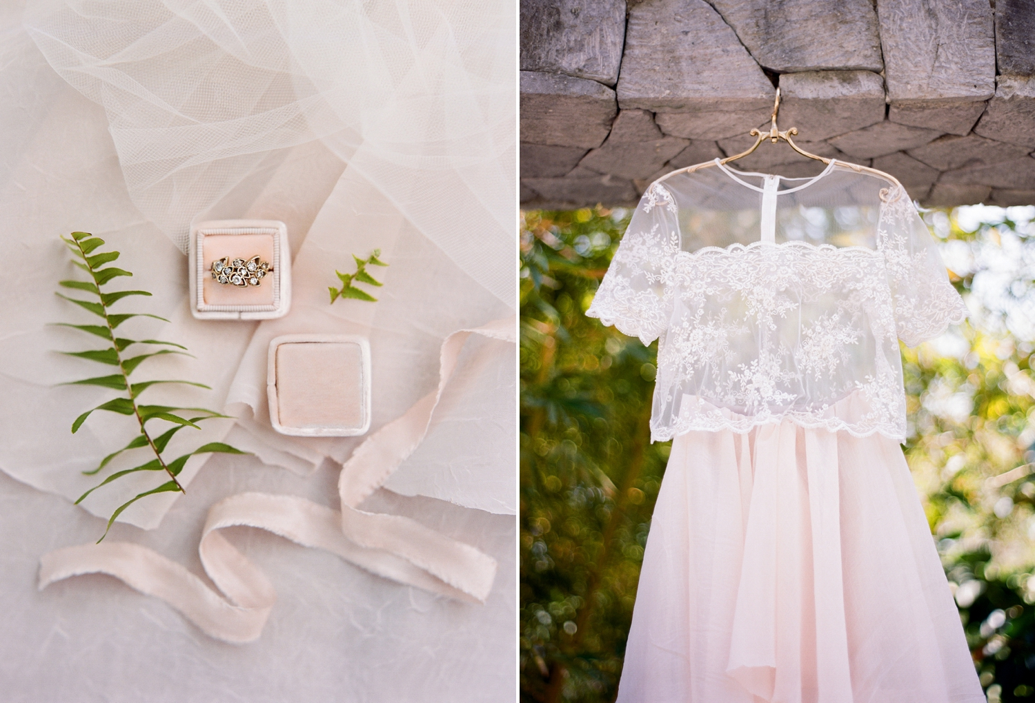 blush romantic destination wedding inspiration