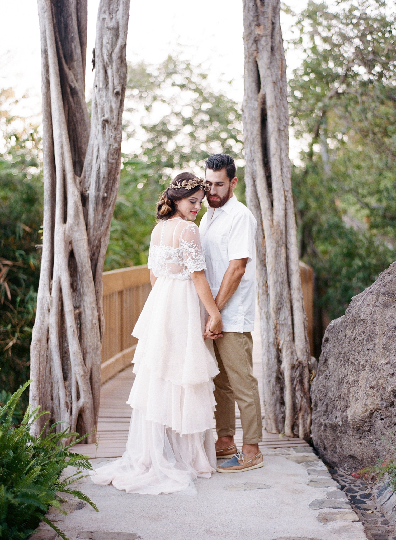 andaz papagayo resort wedding photographer, fine art film destination
