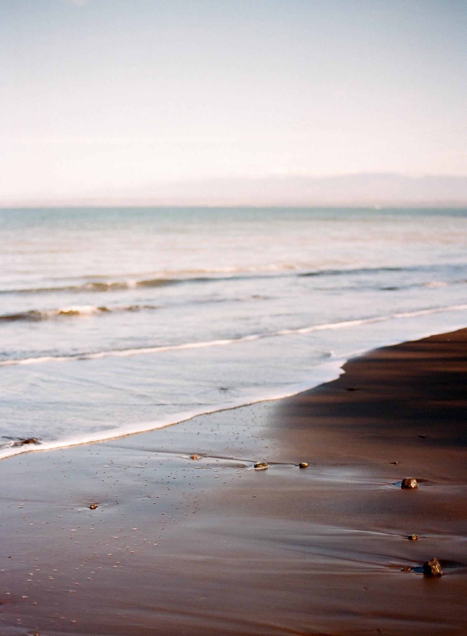 black sand beaches in costa rica, fine art photography