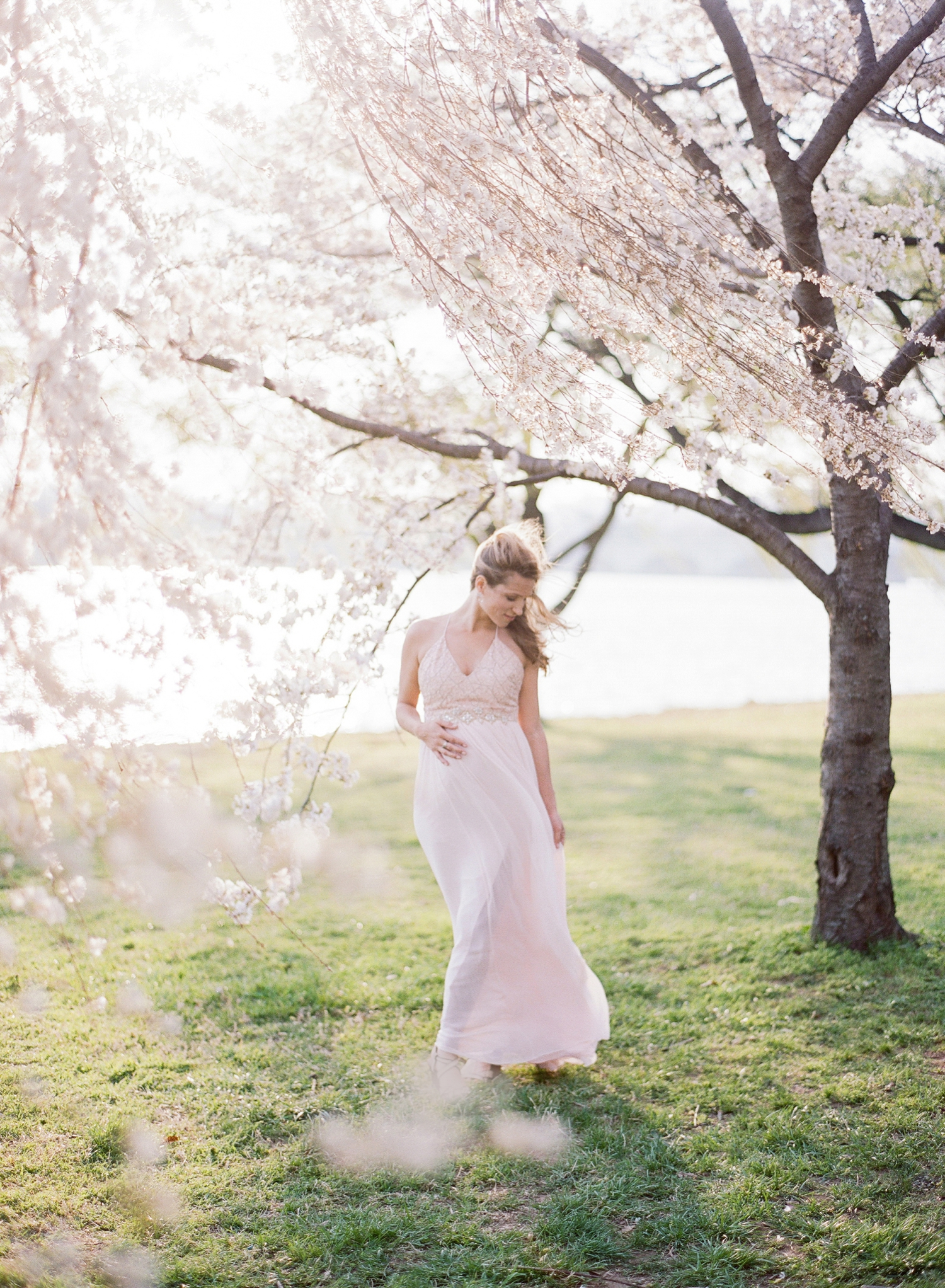 fine art film maternity photographer in DC, VA, MD