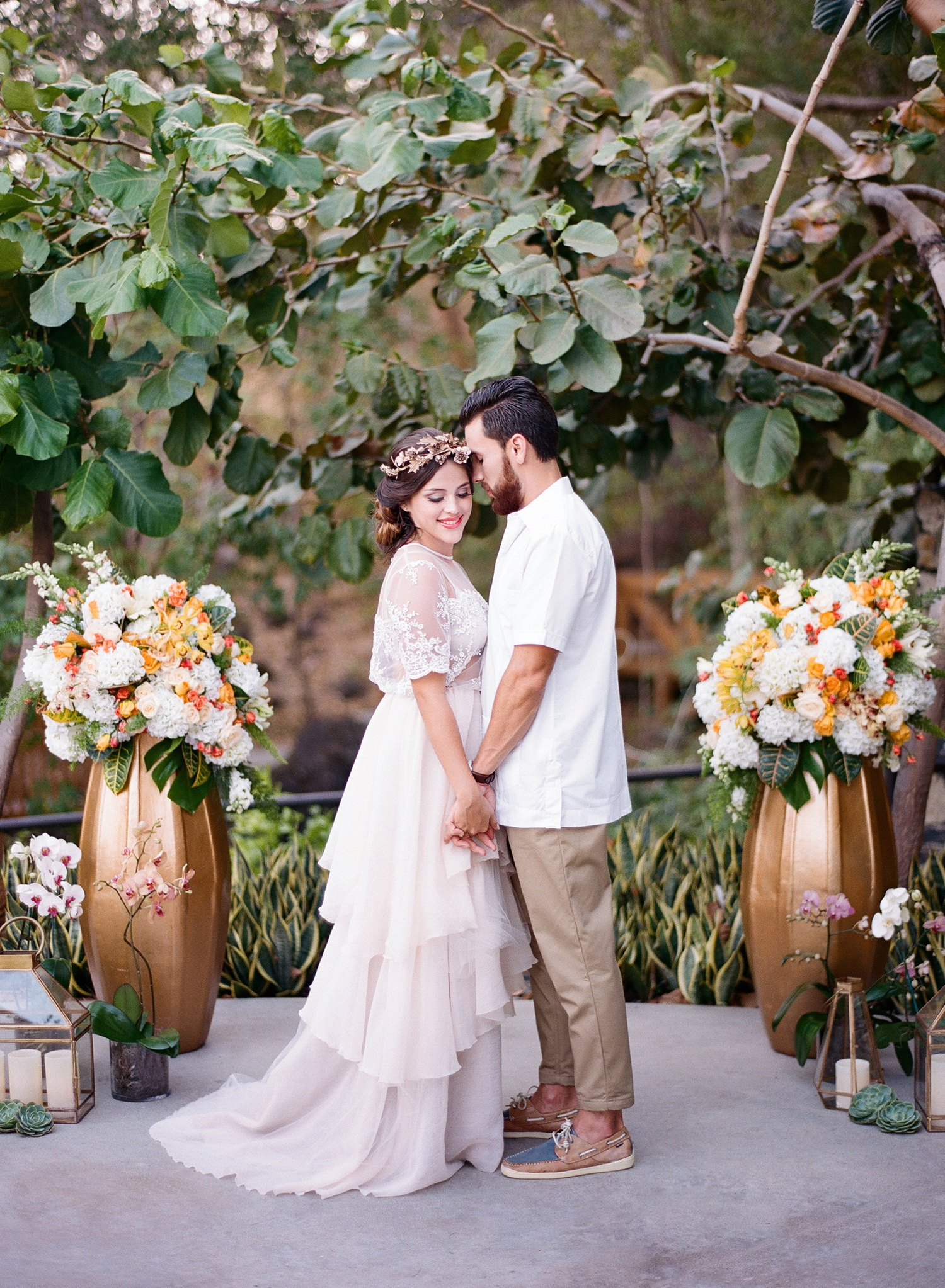 andaz papagayo wedding I fine art film destination photographer costa rica