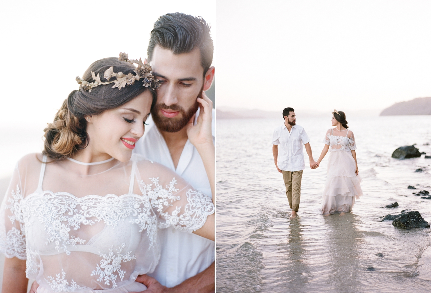 romantic tropical destination wedding inspiration