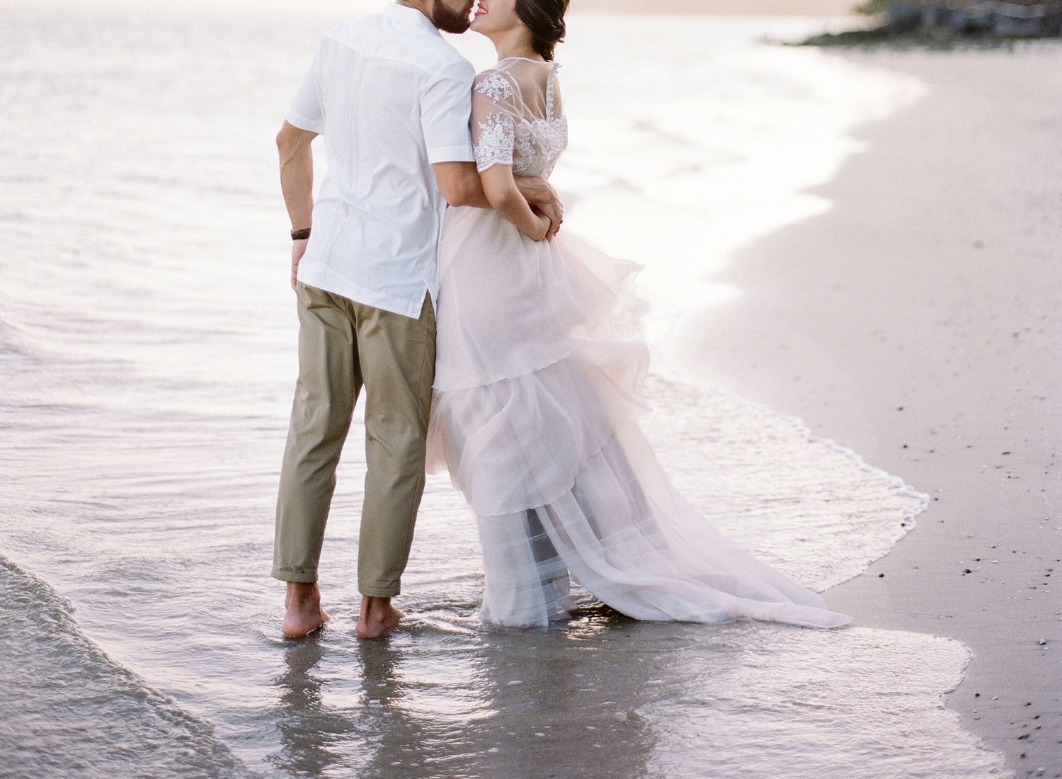 fine art film costa rica wedding photographer, andaz papagayo wedding