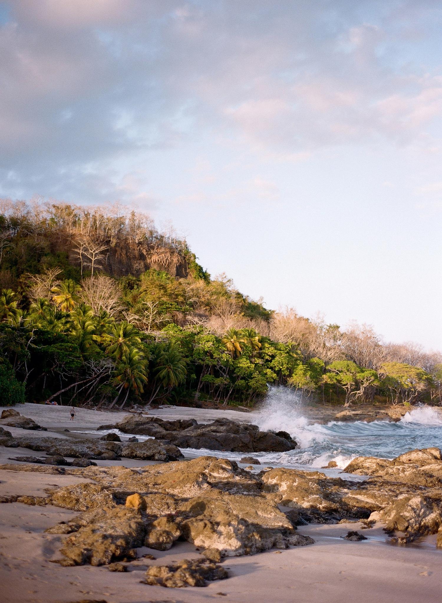 costa rica fine art film photographer, montezuma beach