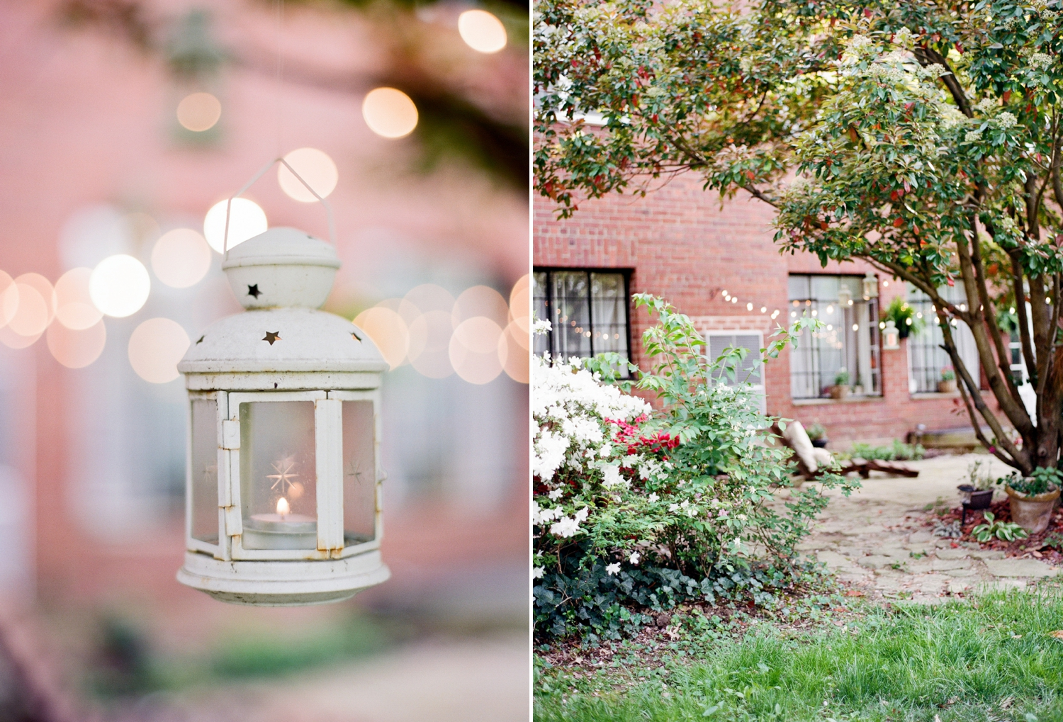 lanterns I garden patio inspiration