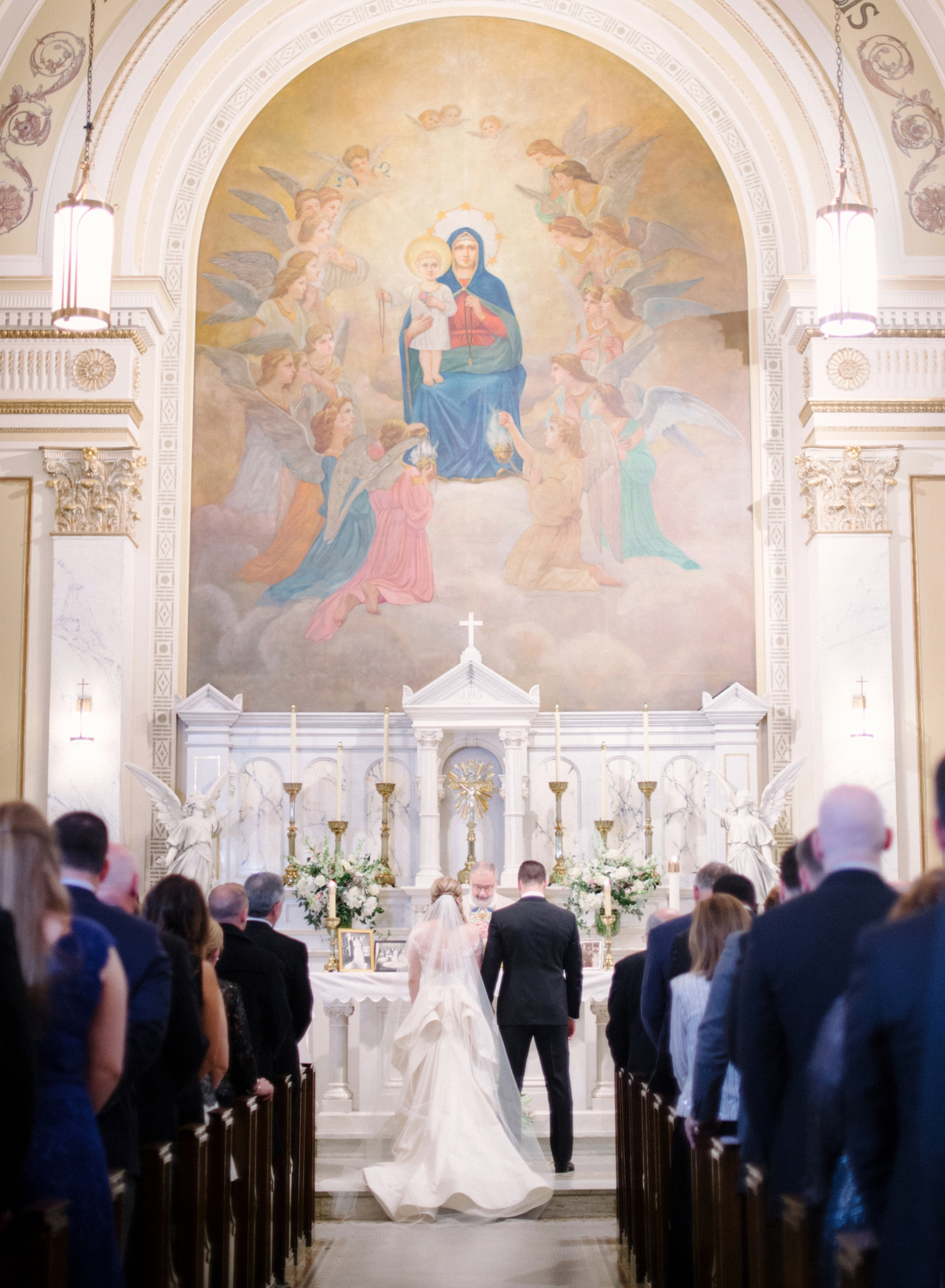holy rosary church wedding in dc