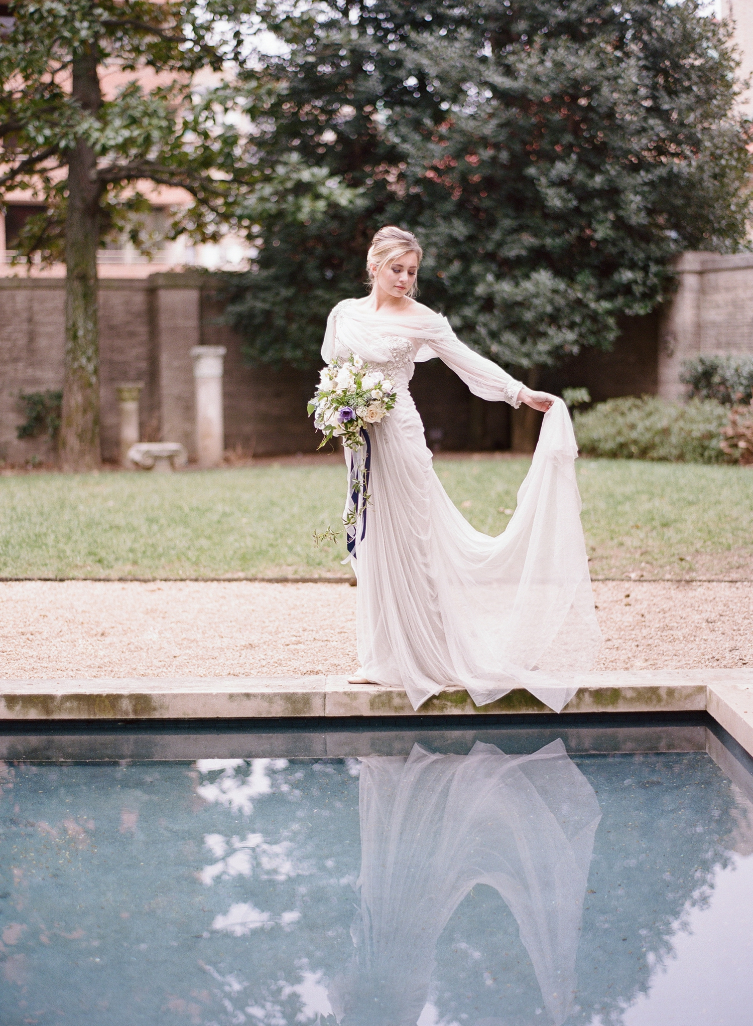 Anderson House wedding editorial, Washington DC