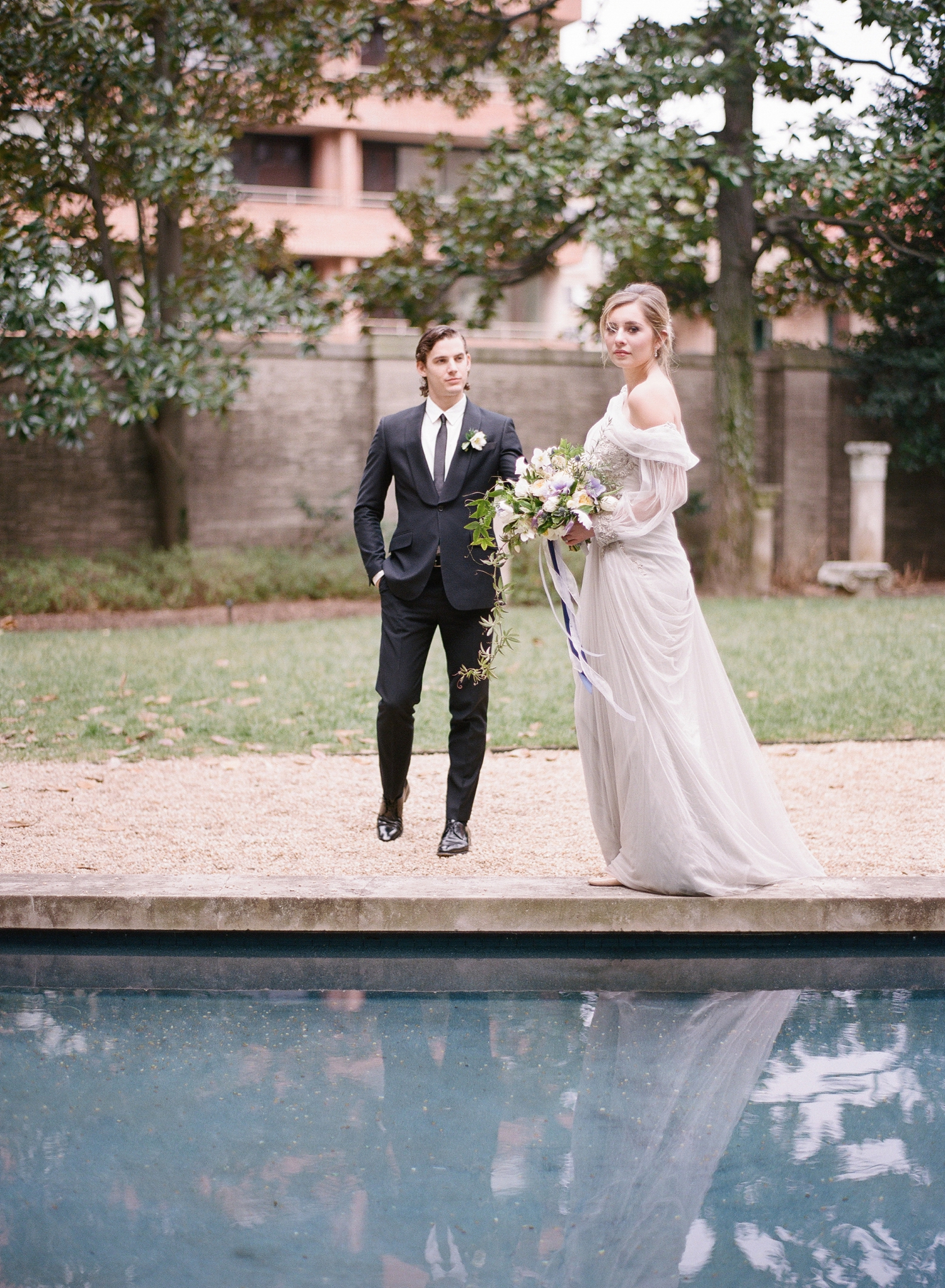 Anderson House wedding photographer, fine art film DC