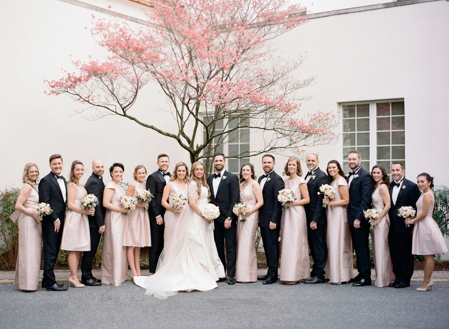 black tie wedding at congressional country club, dc
