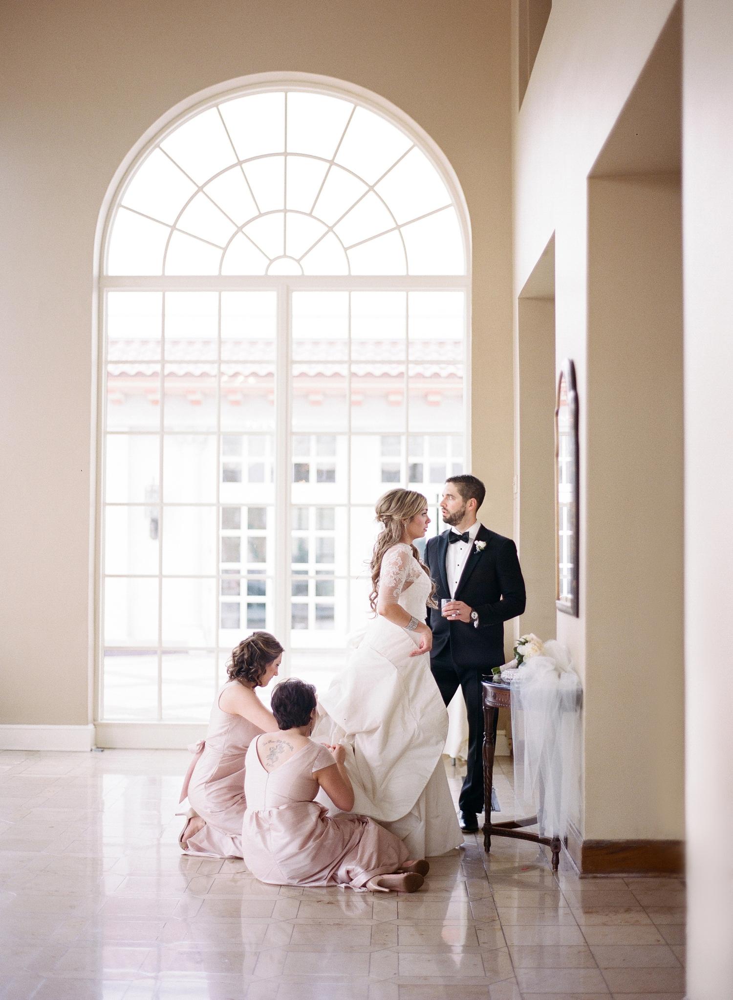 fine art film wedding photographer, congressional country club