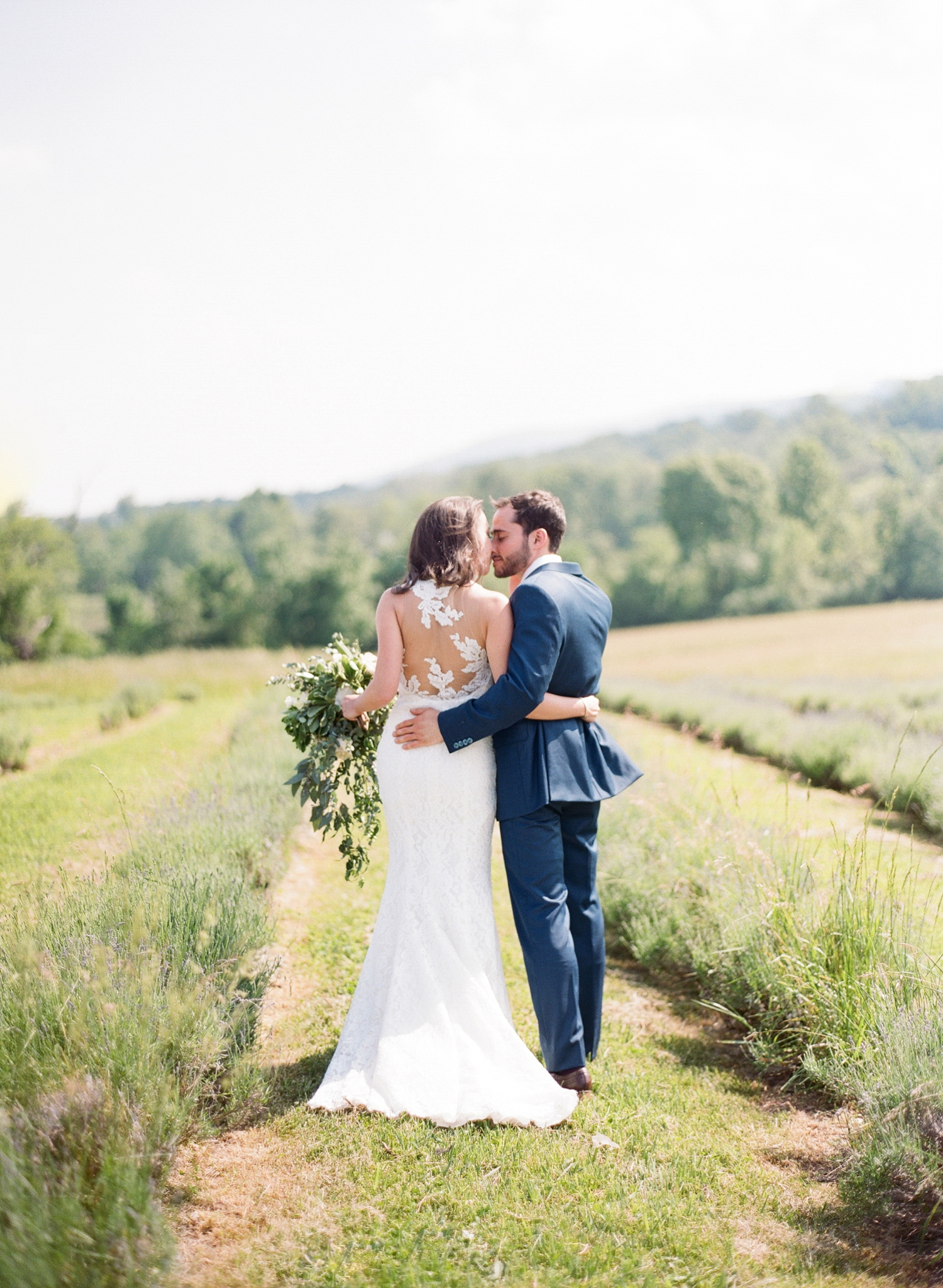 lavender field wedding photos, maryland wedding photographer