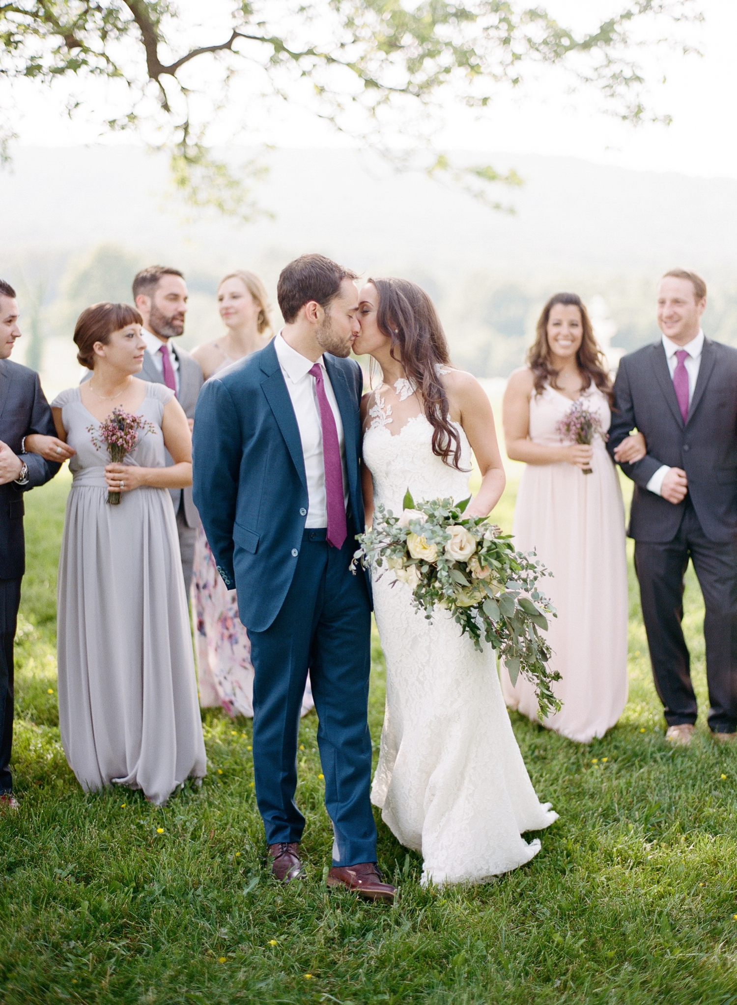 lavender winery wedding in maryland