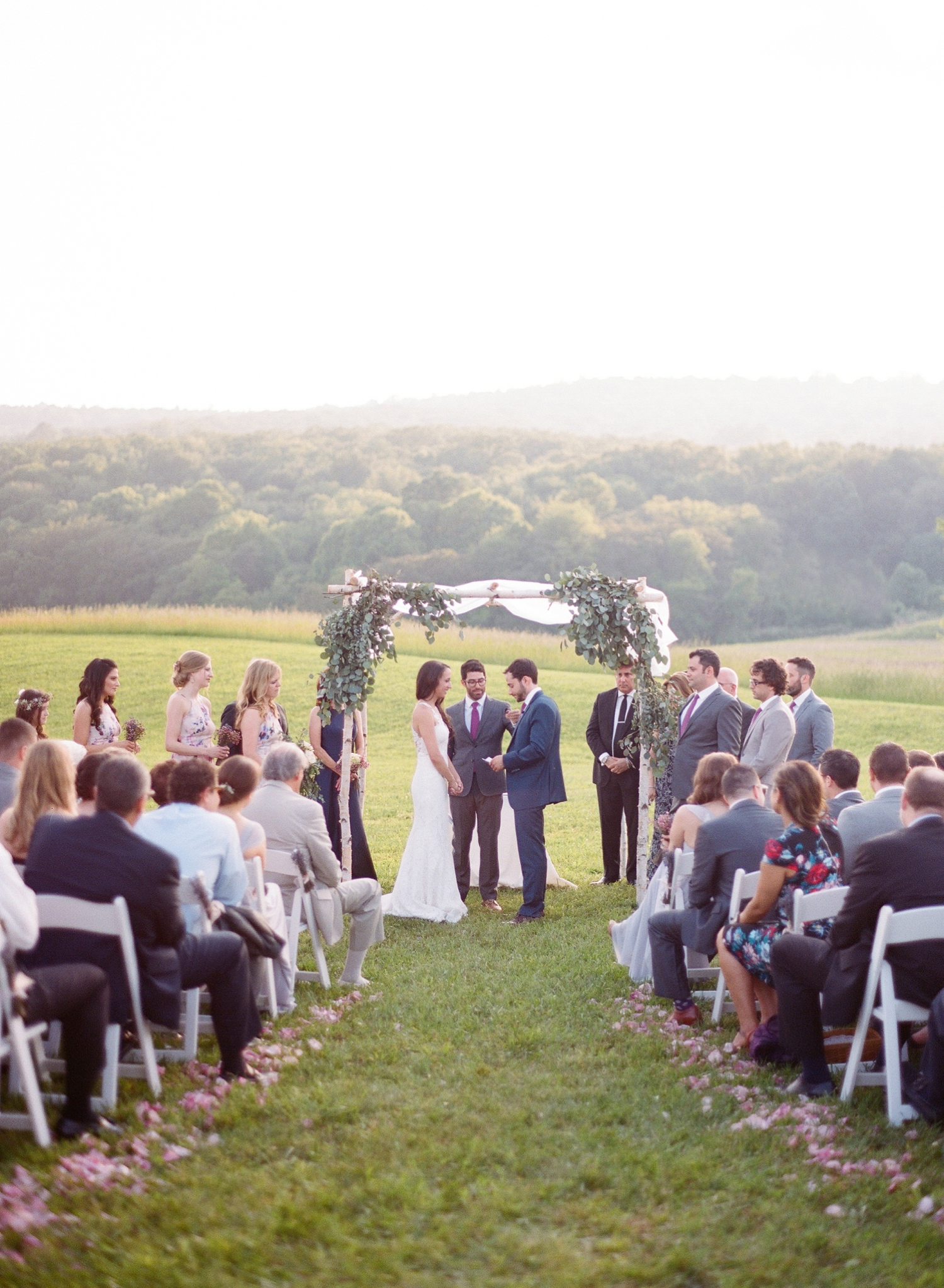 springfield manor winery wedding ceremony