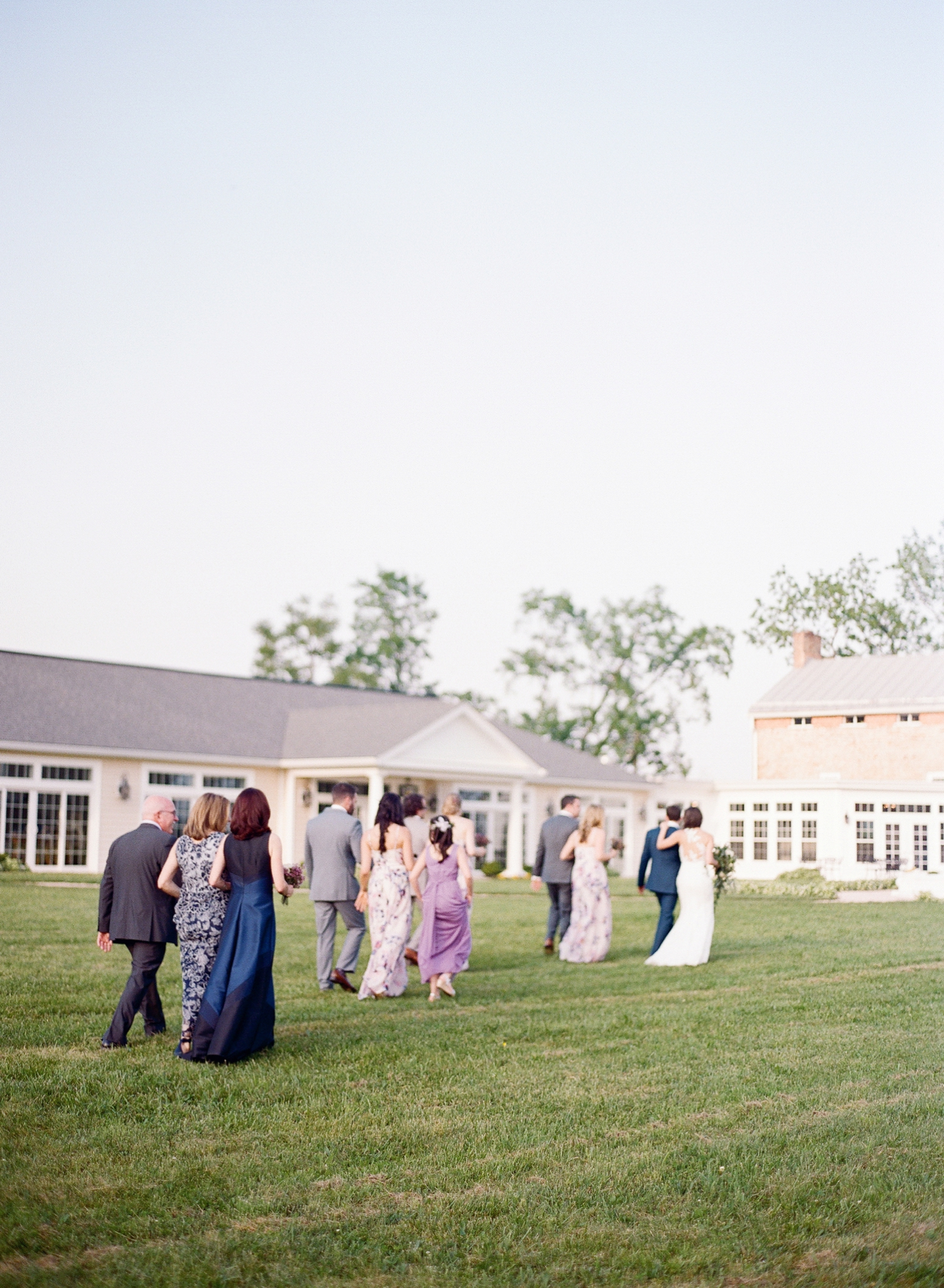 springfield manor wedding ceremony, fine art wedding photographer in MD