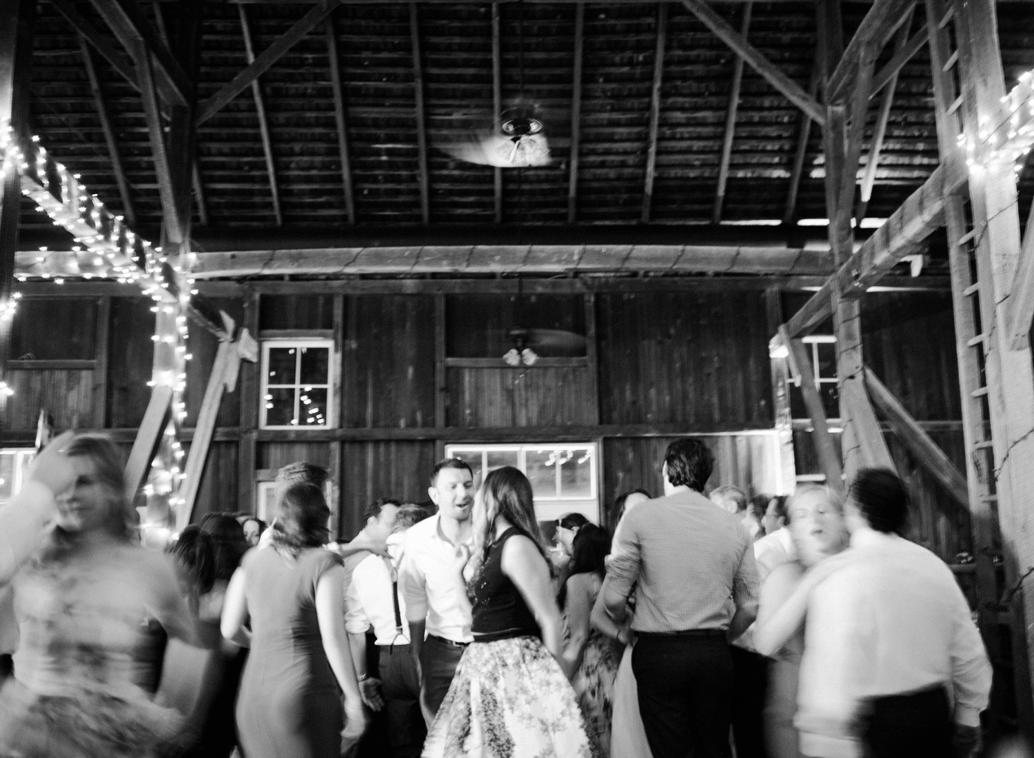 barn wedding at springfield manor winery