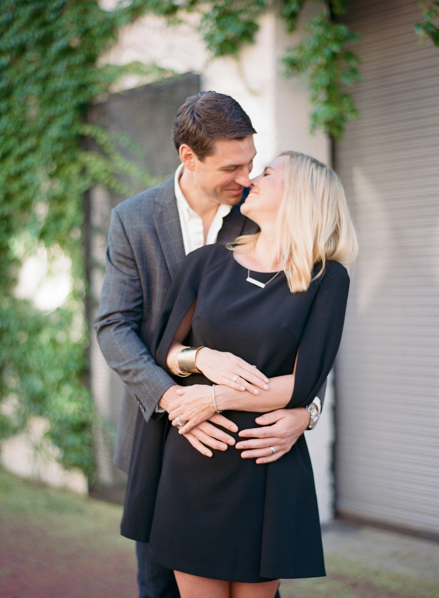 fine art film maternity photographer in Washington DC