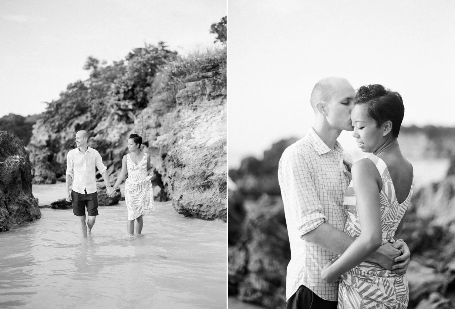 fine art film black and white destination photographer, punta cana DR