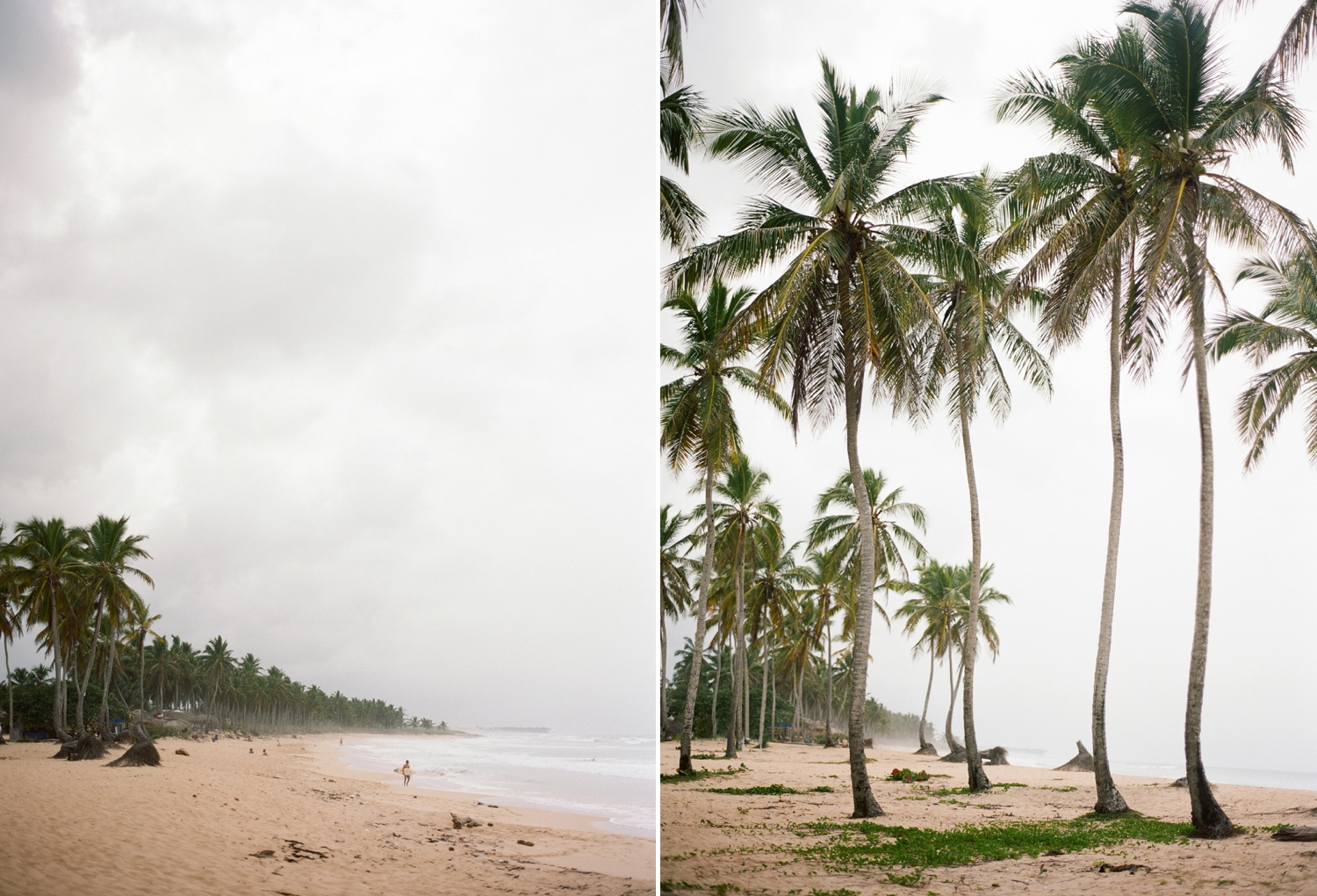 fine art film travel photography in punta cana