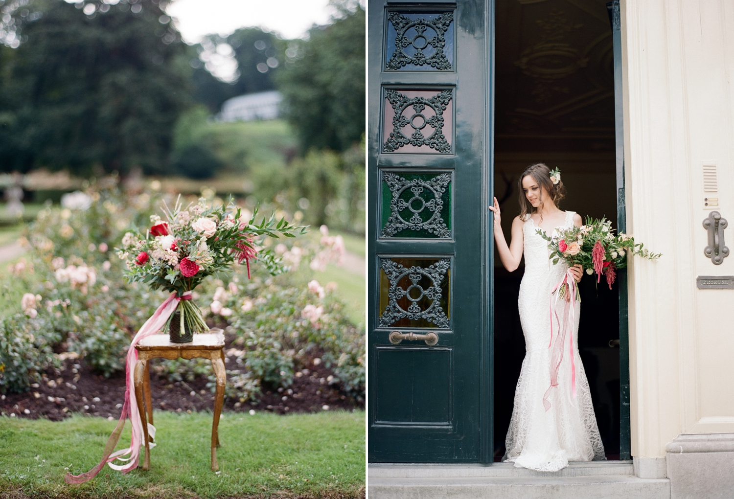 dutch castle wedding inspiration editorial