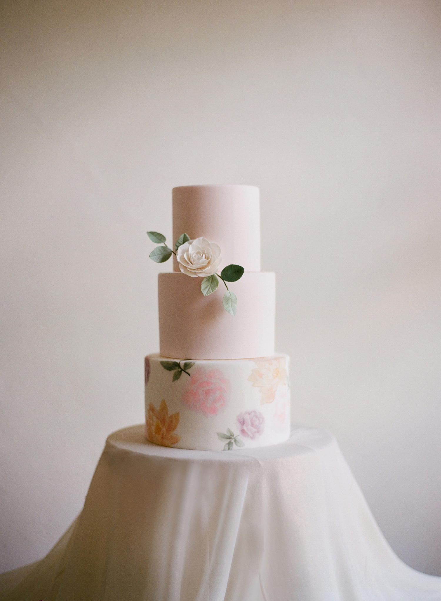 fine art film wedding cake design, the netherlands