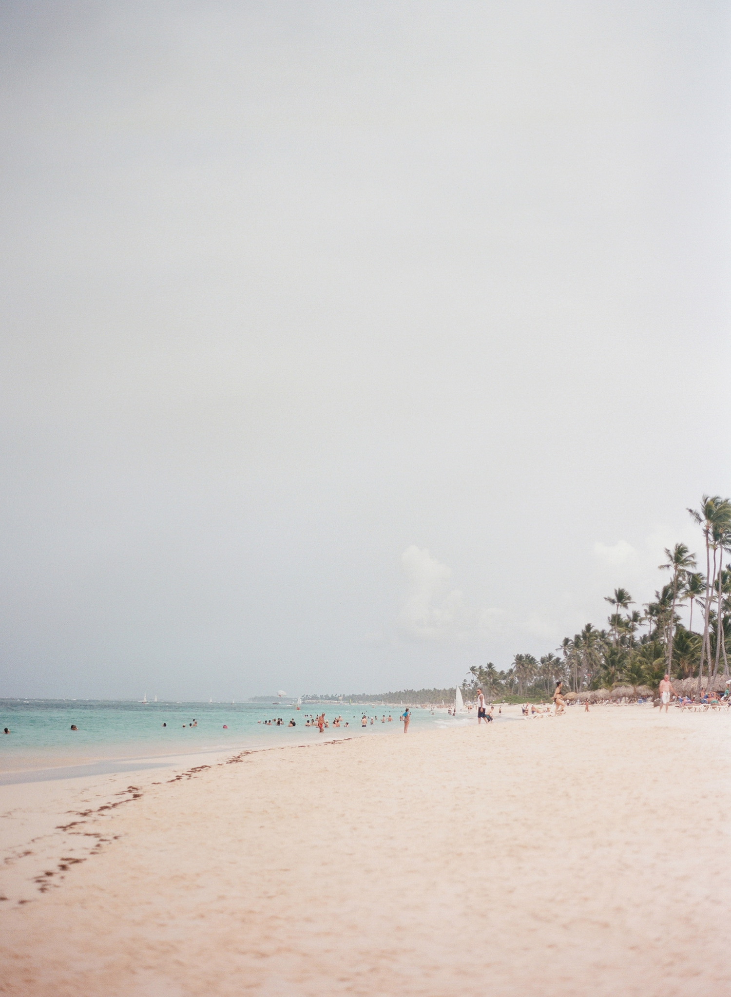 punta cana destination wedding photographer, fine art film