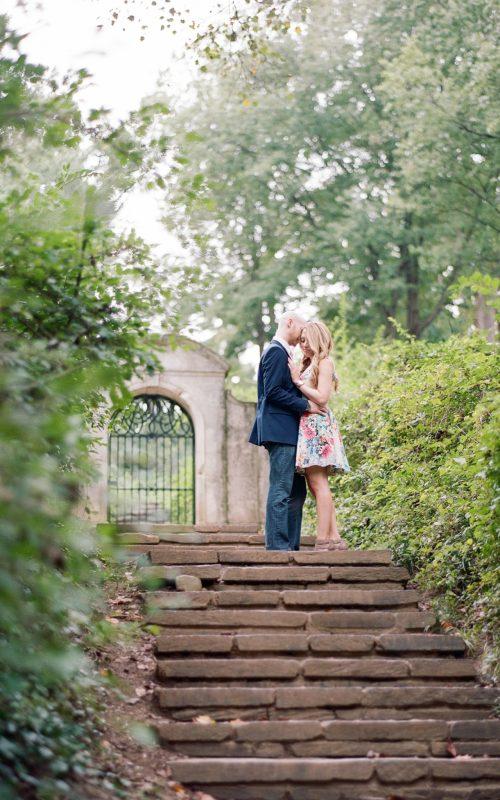 Dumbarton Oaks Park Engagement