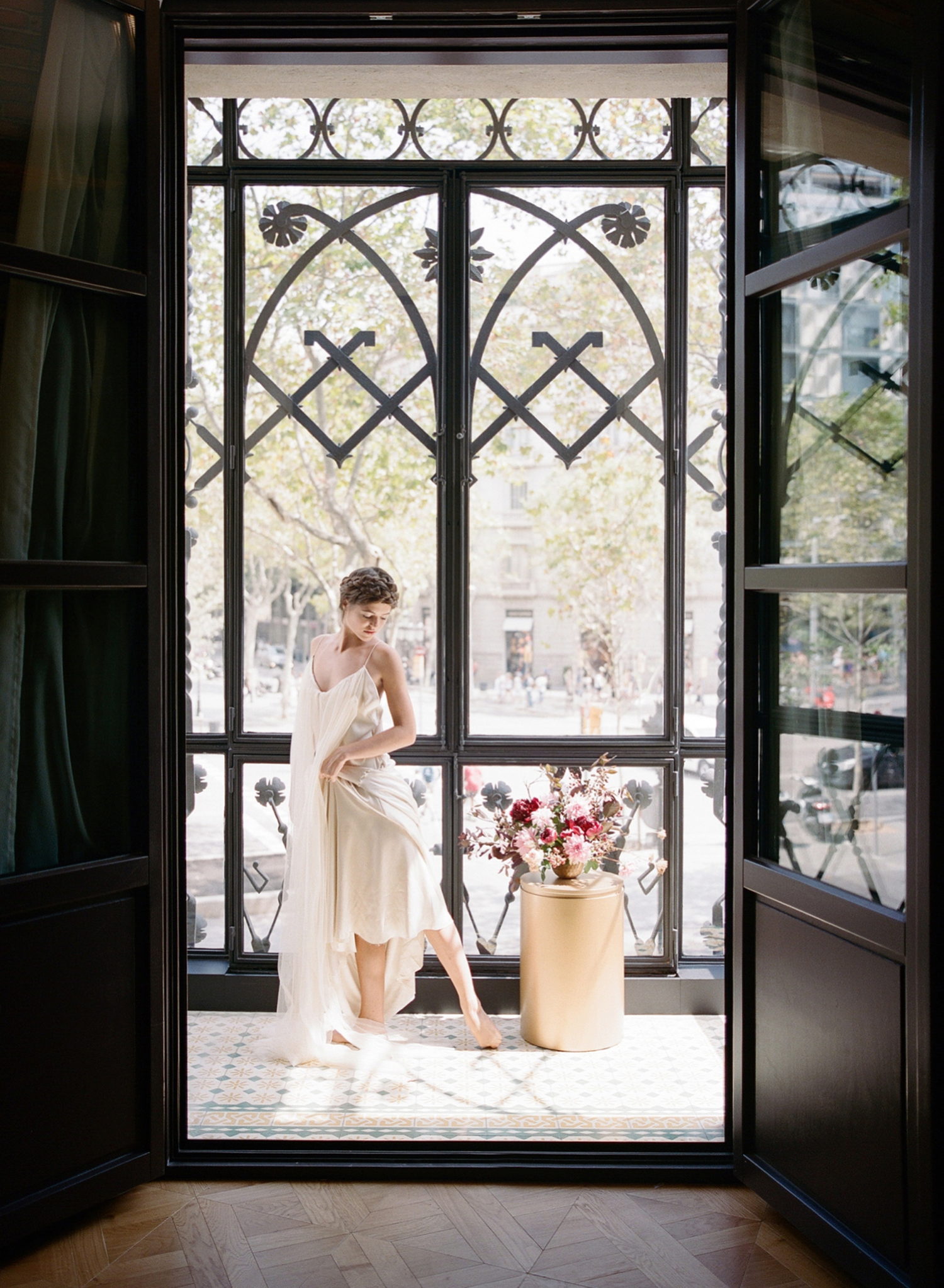 Barcelona Destination Film Boudoir Session