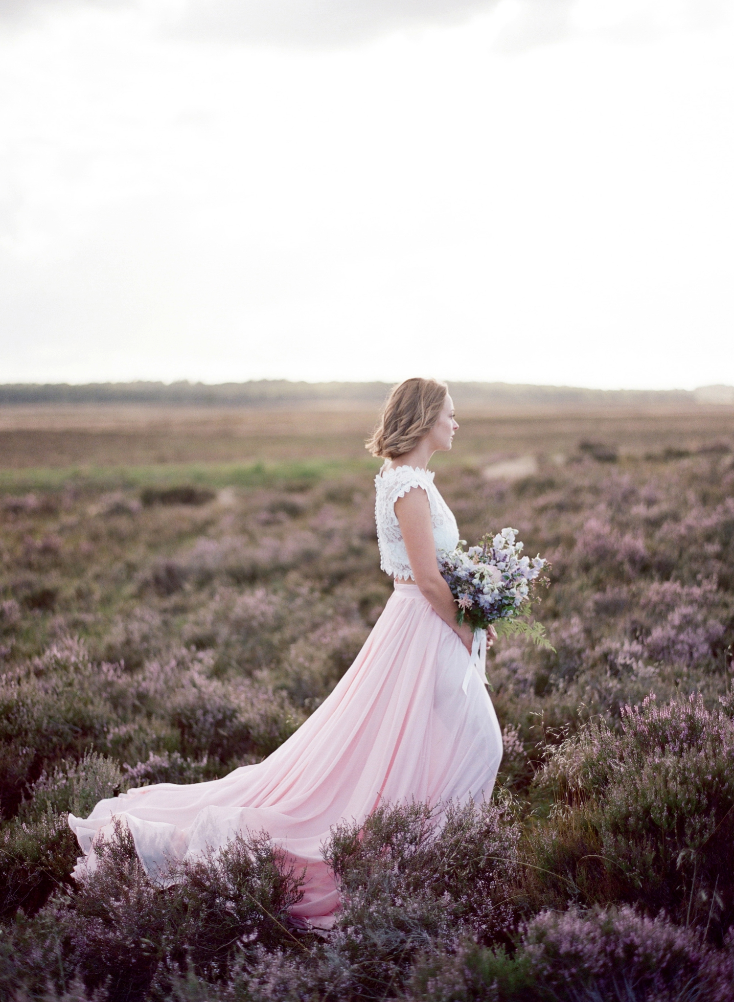 lavender field inspirational shoot