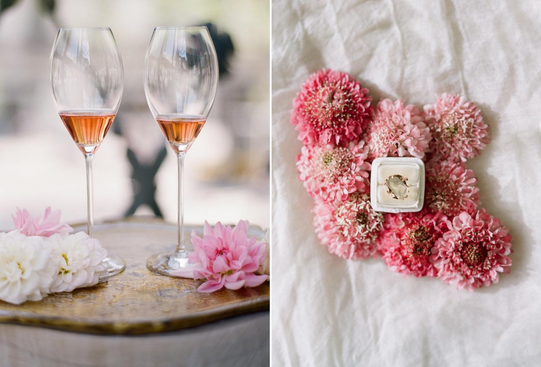 fine art film bridal details