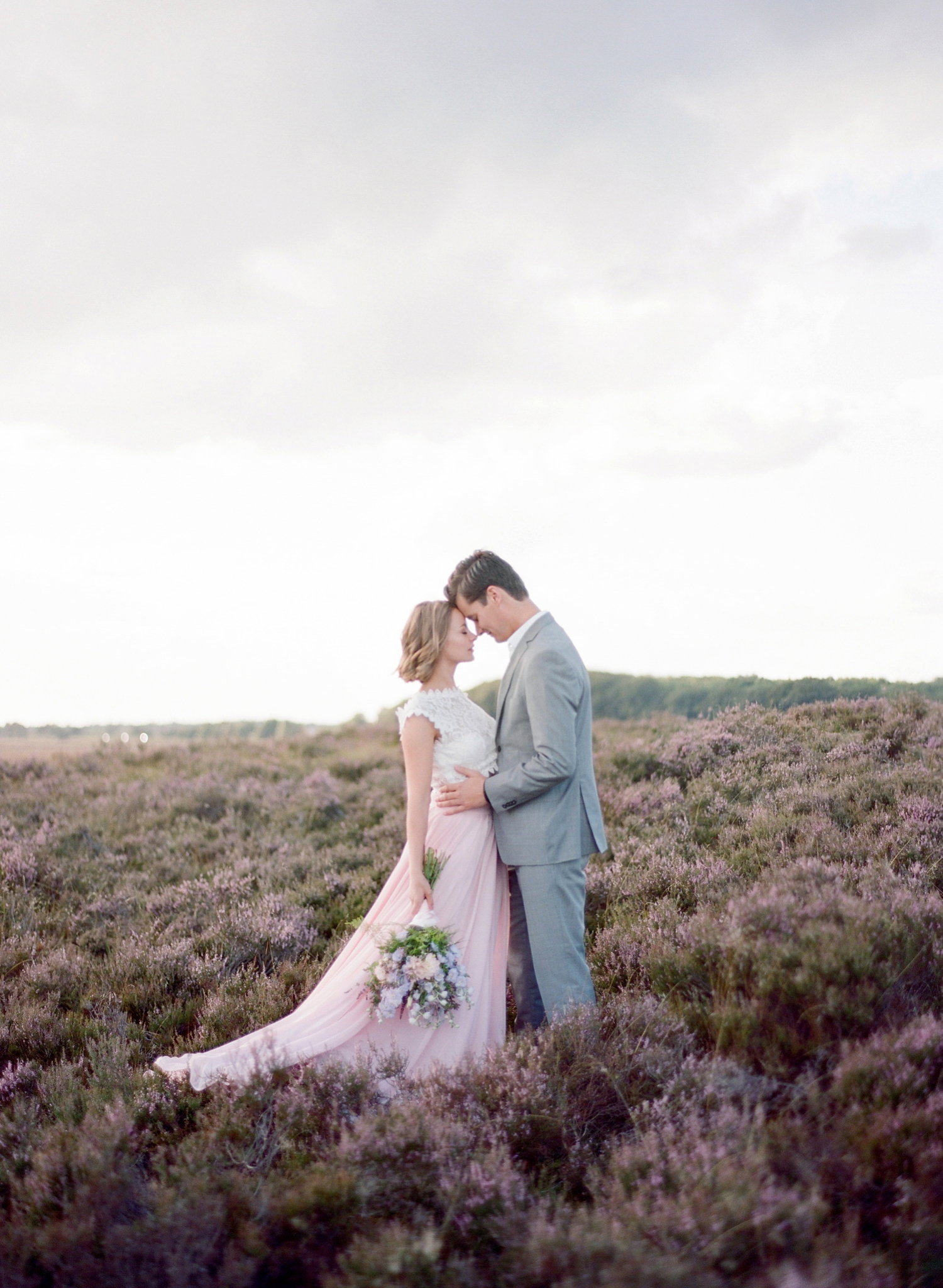 lavender fields inspiration shoot