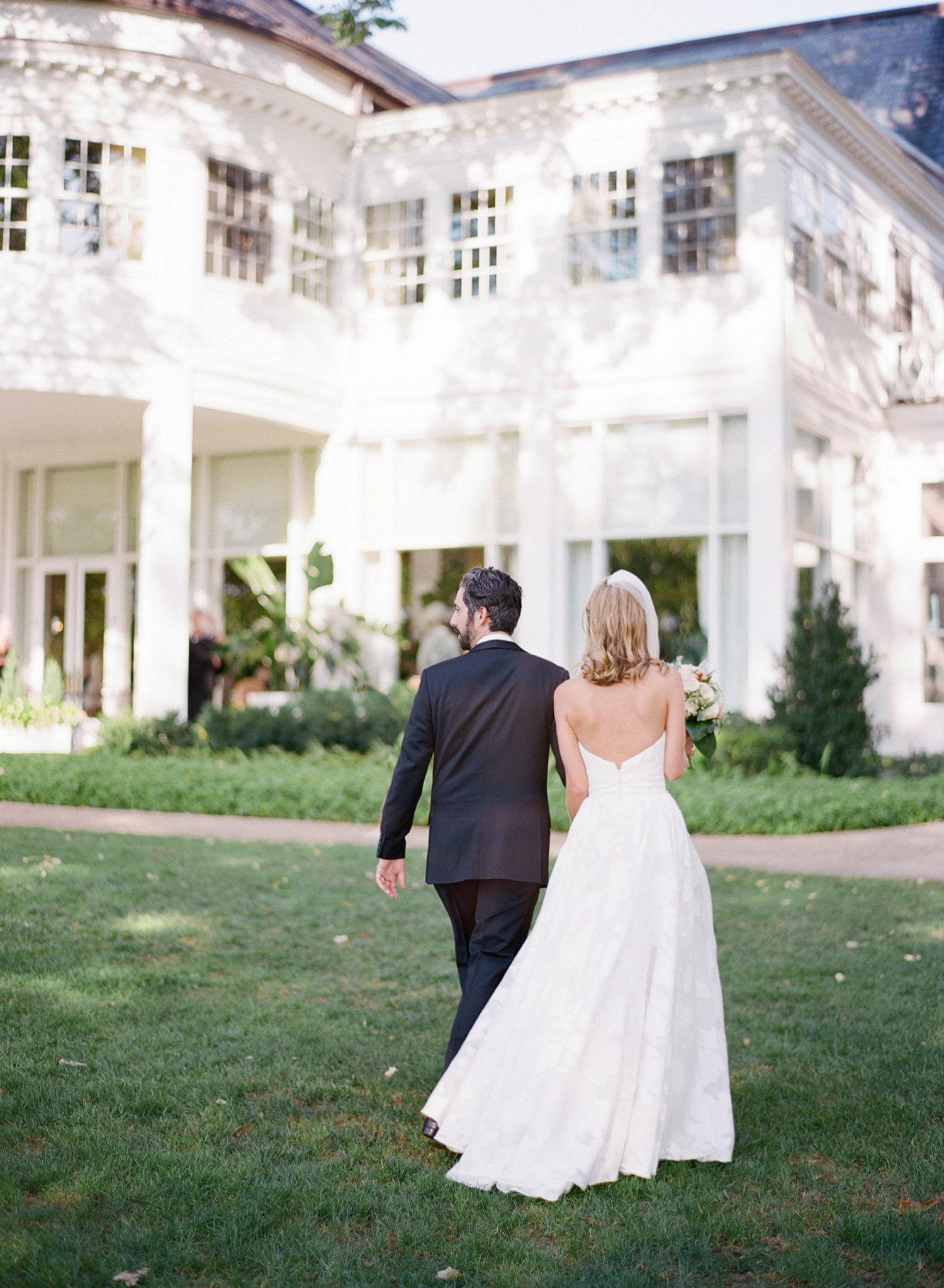 black tie wedding at chevy chase club