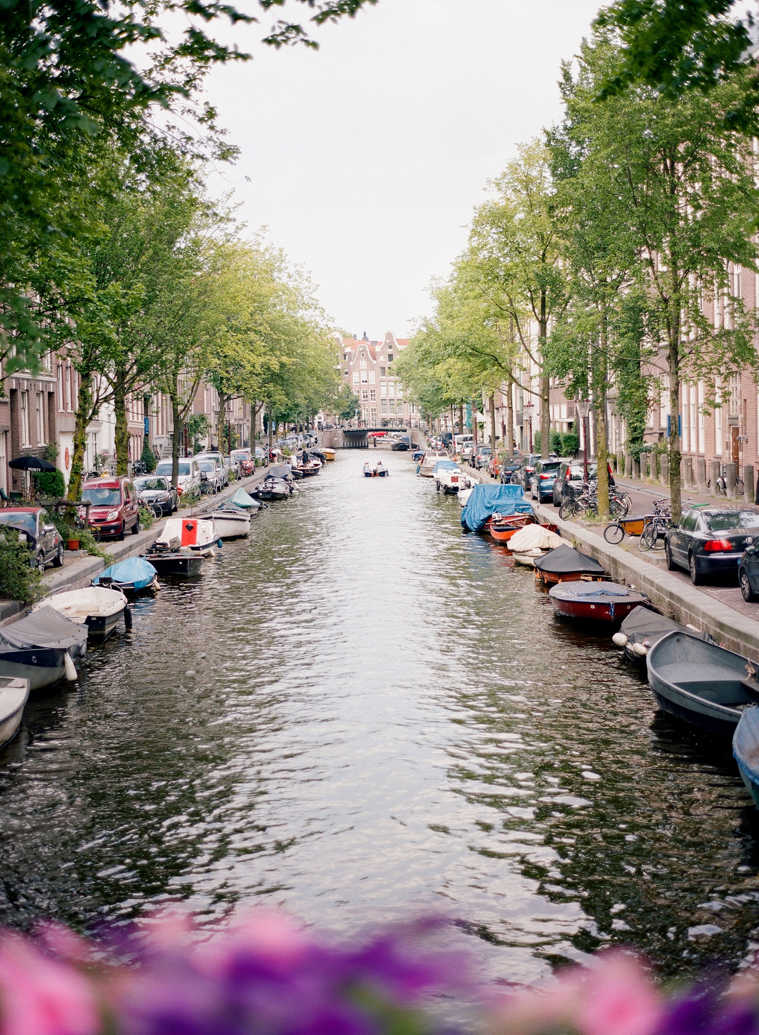amsterdam canals on film, dutch destination photographer