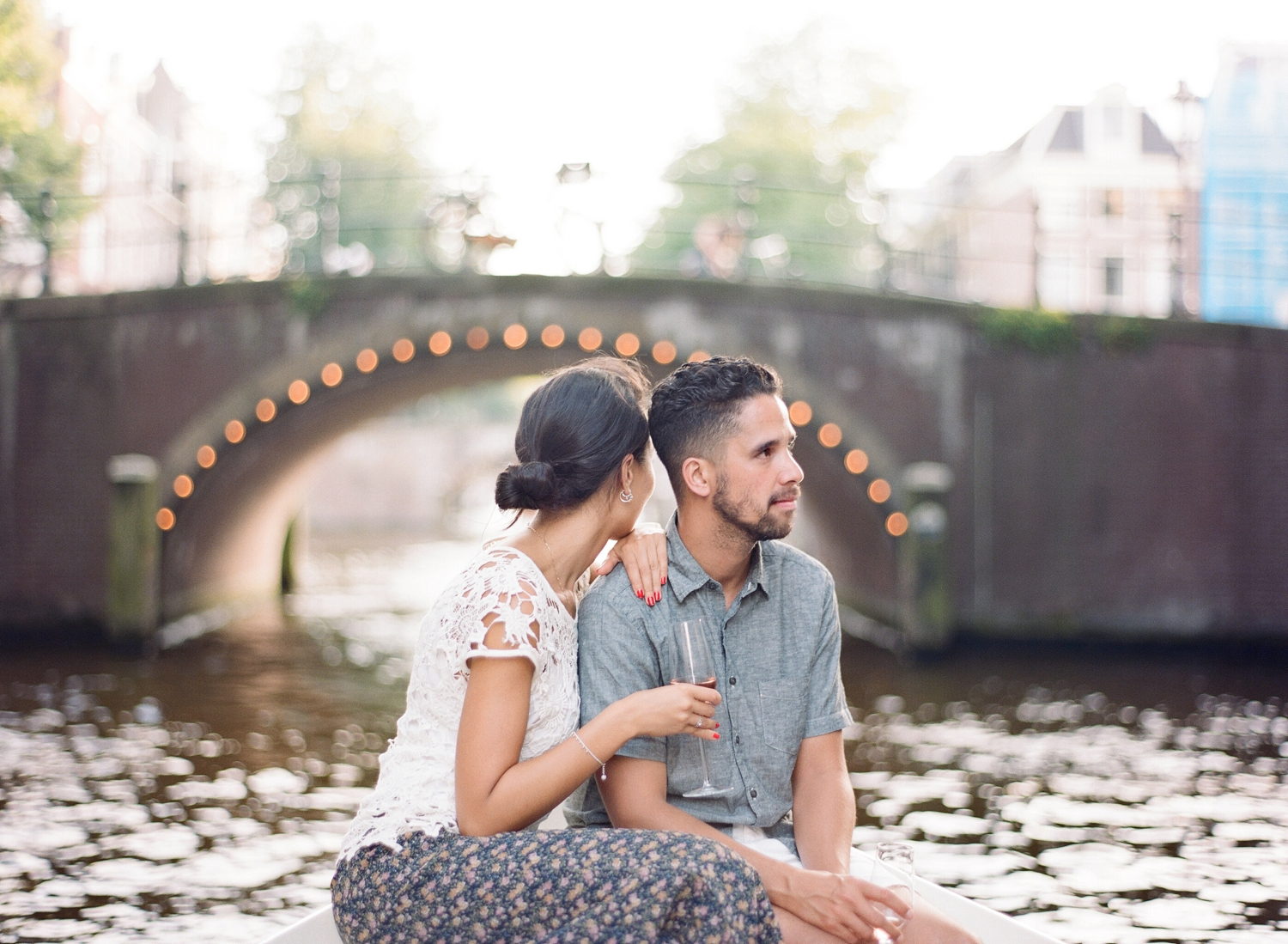 engagement photos in Amsterdam